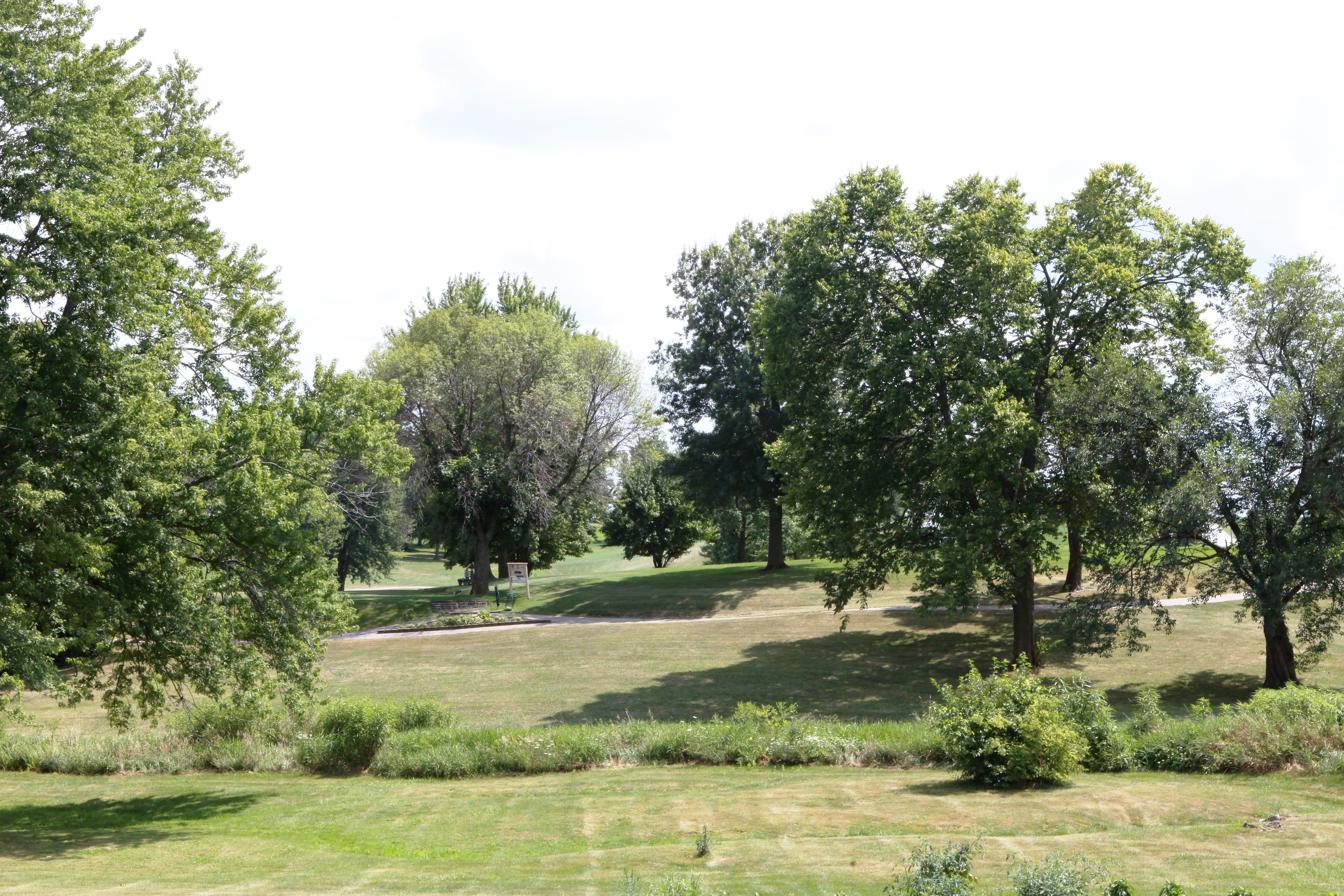 View of Lakevie Golf course from front yard