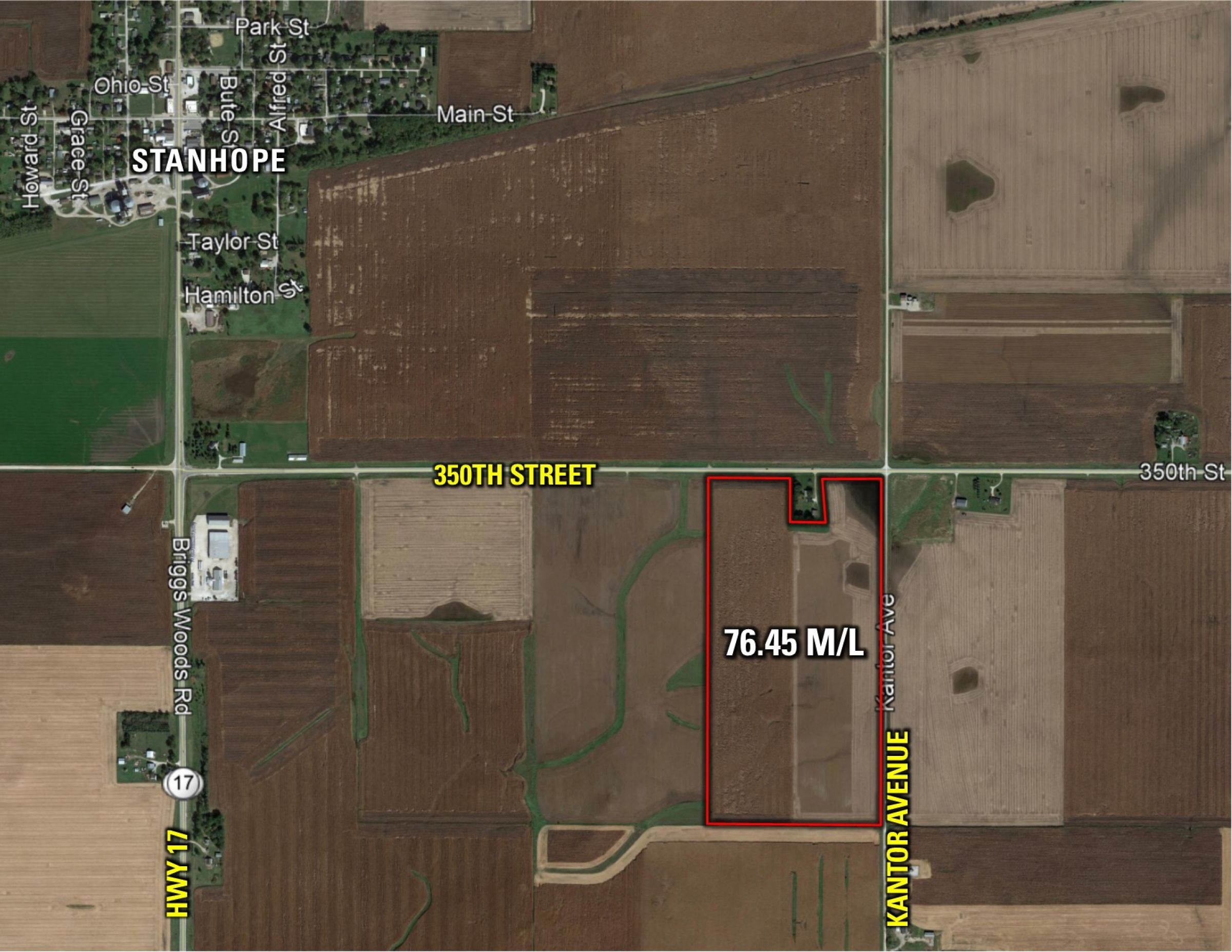 PeoplesCompany-Farmland in Hamilton County-IA-Kantor-Ave-9