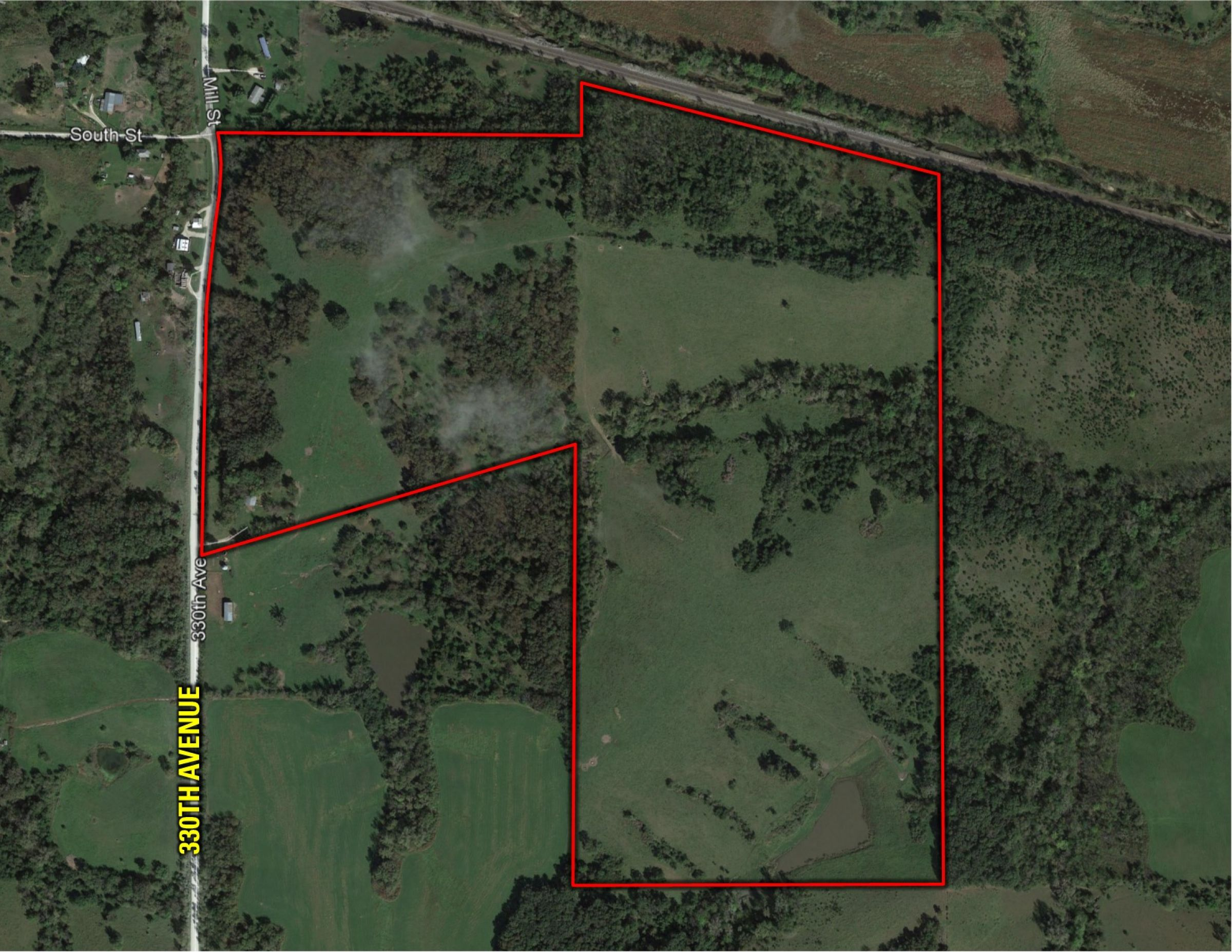Peoples Company farmland for sale in-Clarke County-IA-330th Ave. Woodburn, IA 50275