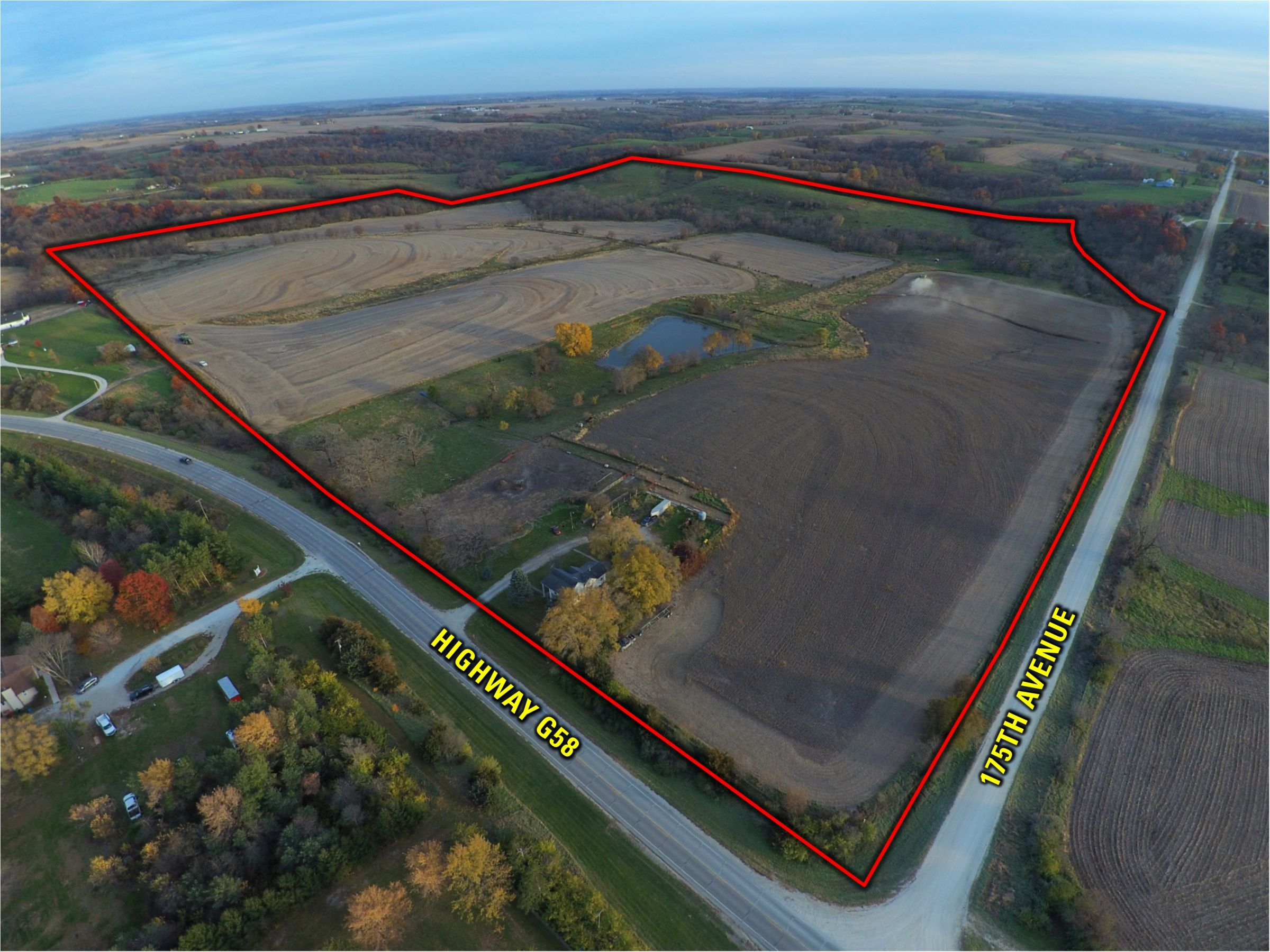 Peoples Company Iowa Farmland for Sale_Warren County Iowa_17356 G58 Hwy Milo, IA 50166