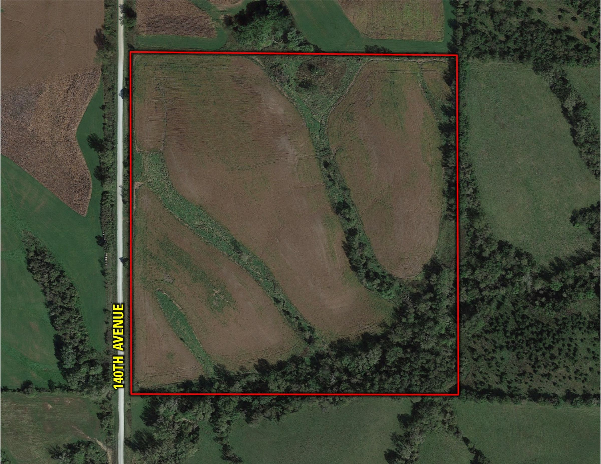 Peoples Company Land for Sale-40 acres Lucas County Iowa 140th-ave-norwood-50151