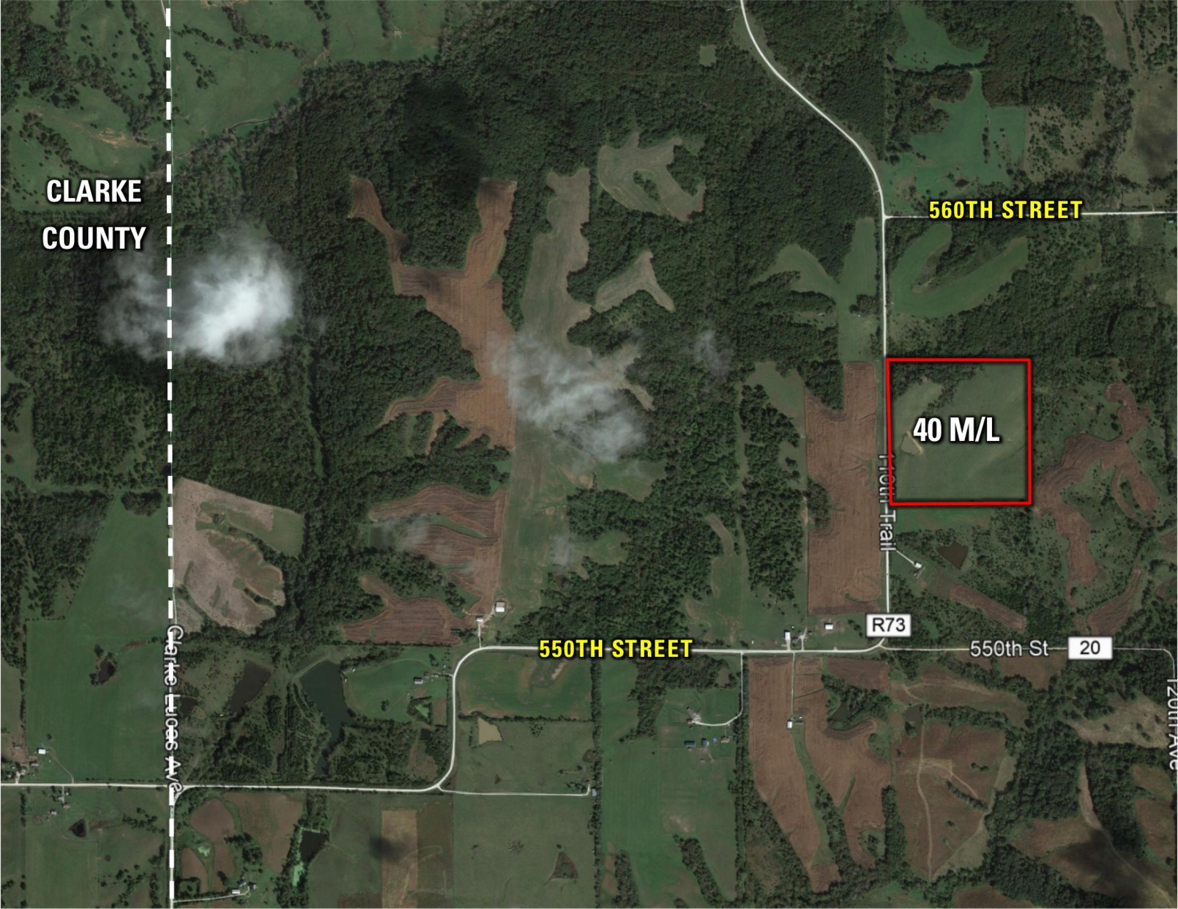 Peoples Company Land for Sale Lucas County Iowa, 110th Trail, Norwood, IA 50151