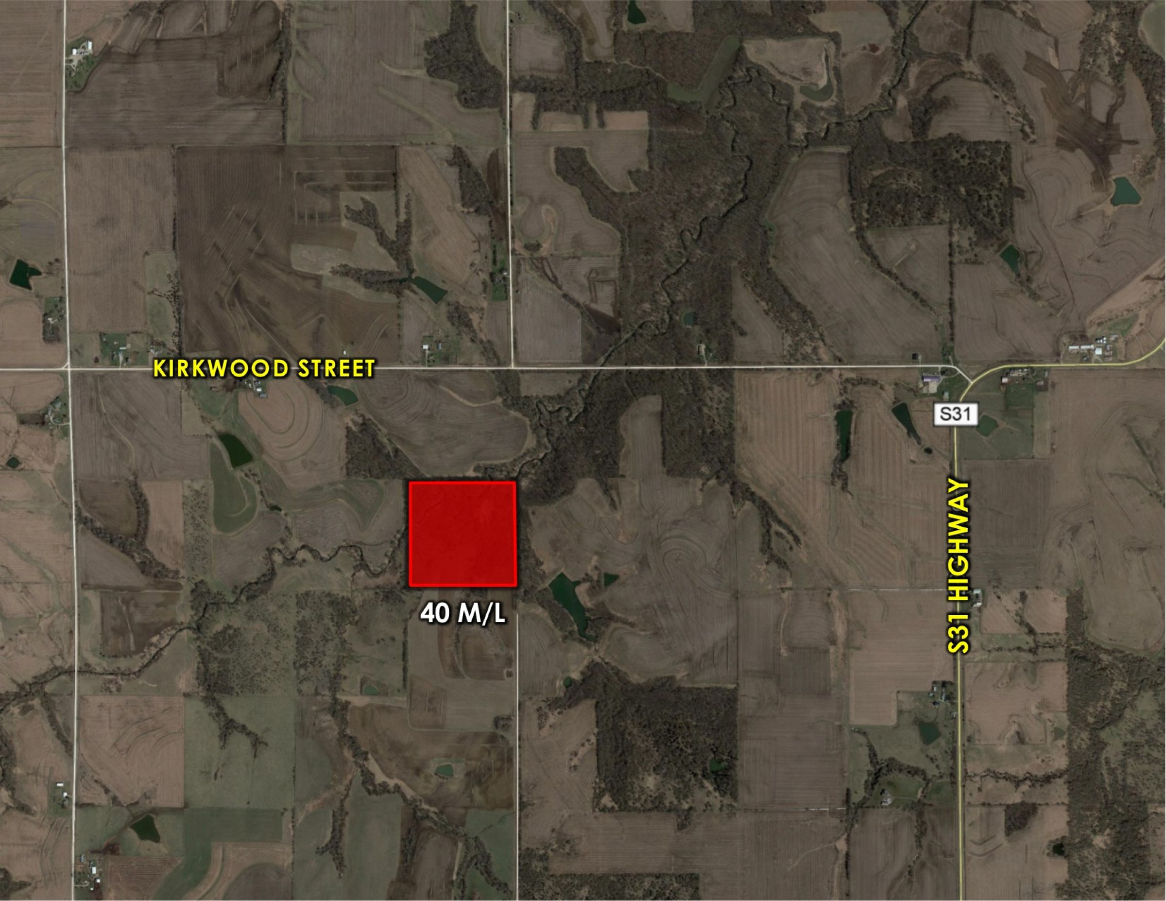 Peoples Company Recreational Land for Sale Warren County IA - 220th Ave. Milo, IA 50166