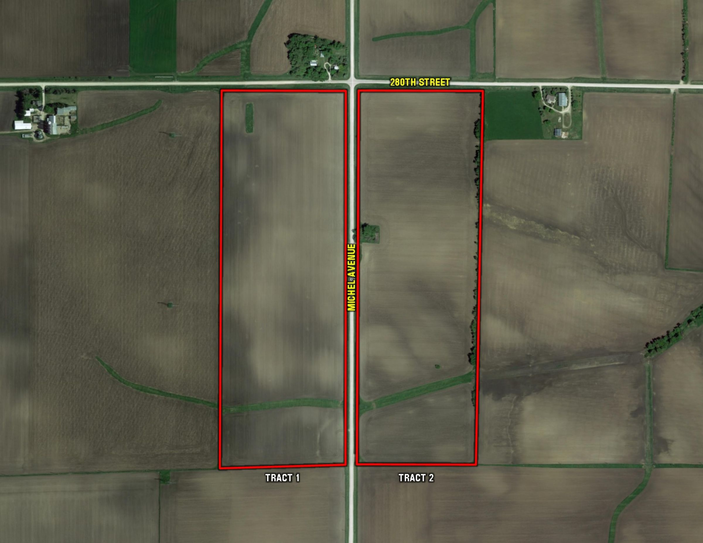 Both Tracts - Aerial Map