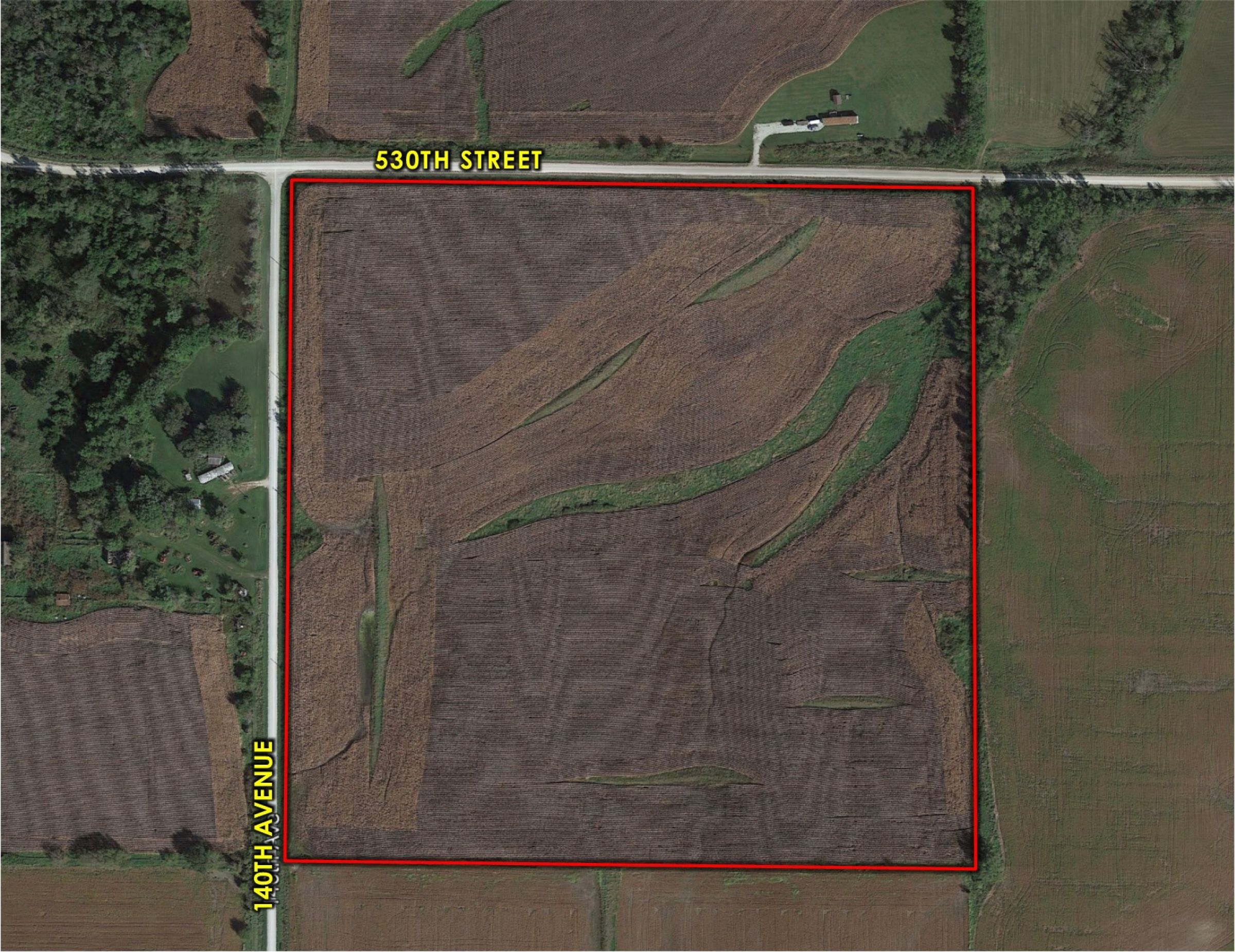 Peoples Company Land For Sale - Lucas County, IA - 530th Street, Lucas, IA 50151