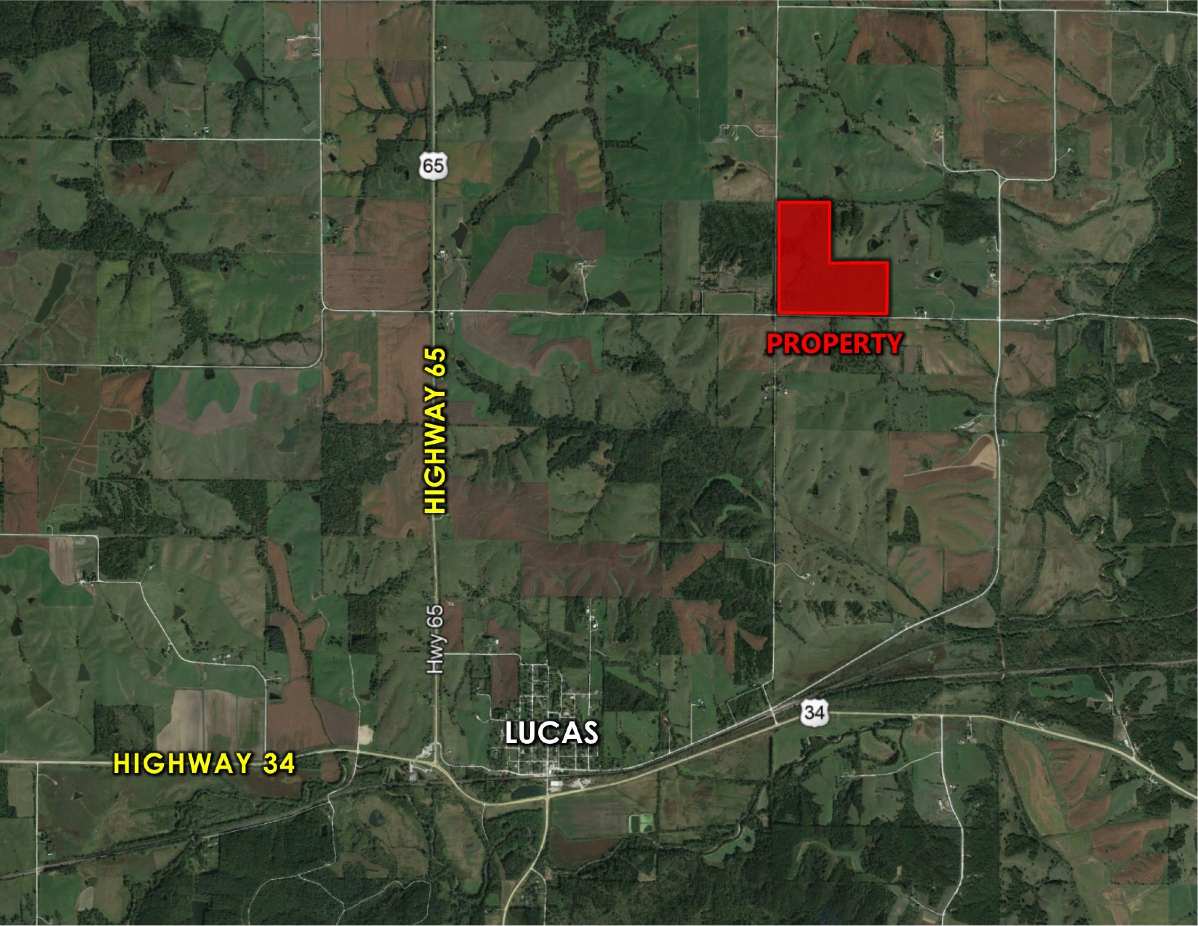 Peoples Company Land for Sale in Lucas County, IA - #14438-510th-street-lucas-50151