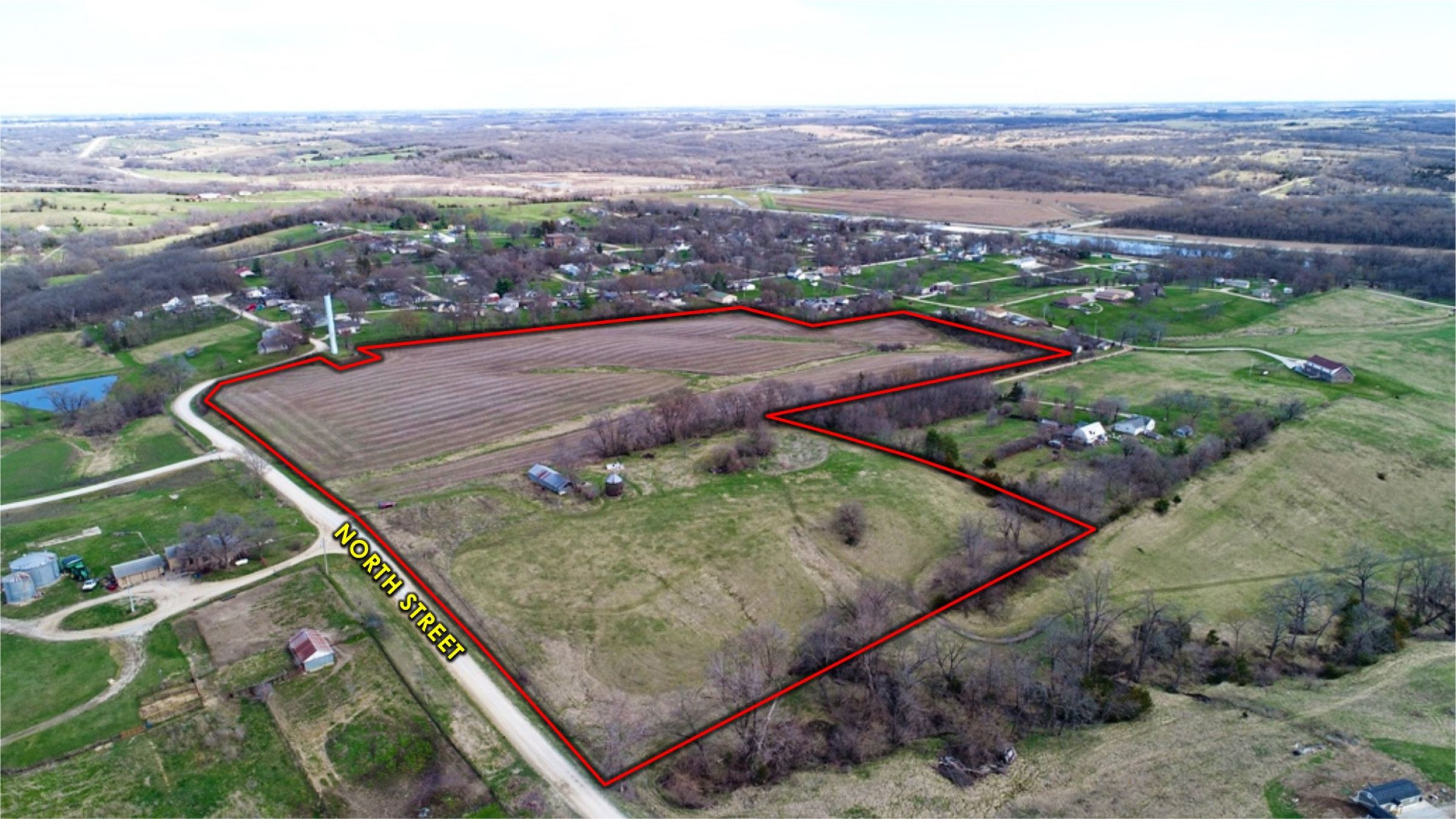 Peoples Company Land for Sale- 25 acres - Lucas County-501-n-street-lucas-50151