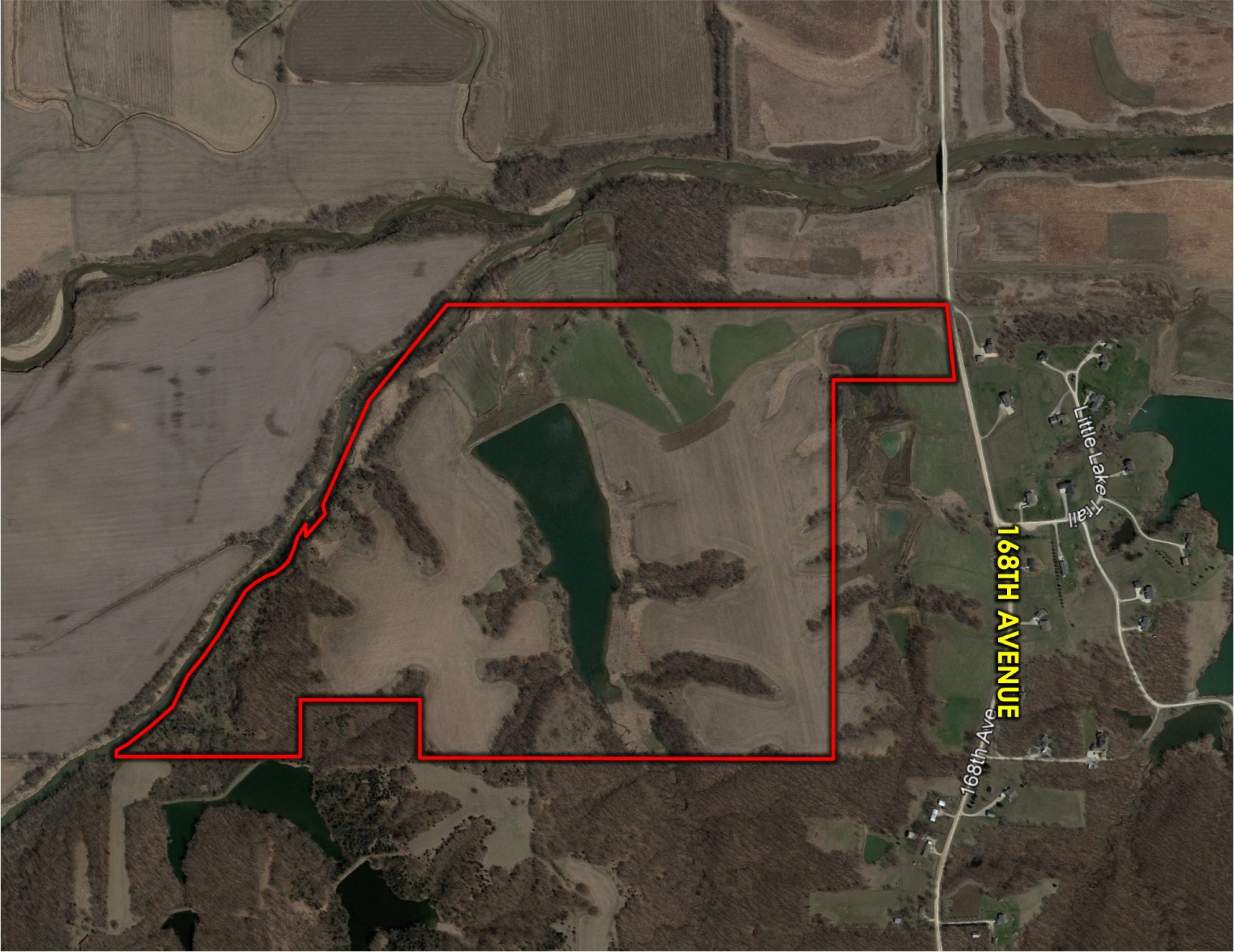 Peoples Company Land for Sale in Warren County, Iowa - 205 acres - 168th Ave. Indianola, IA 50125 - 14501