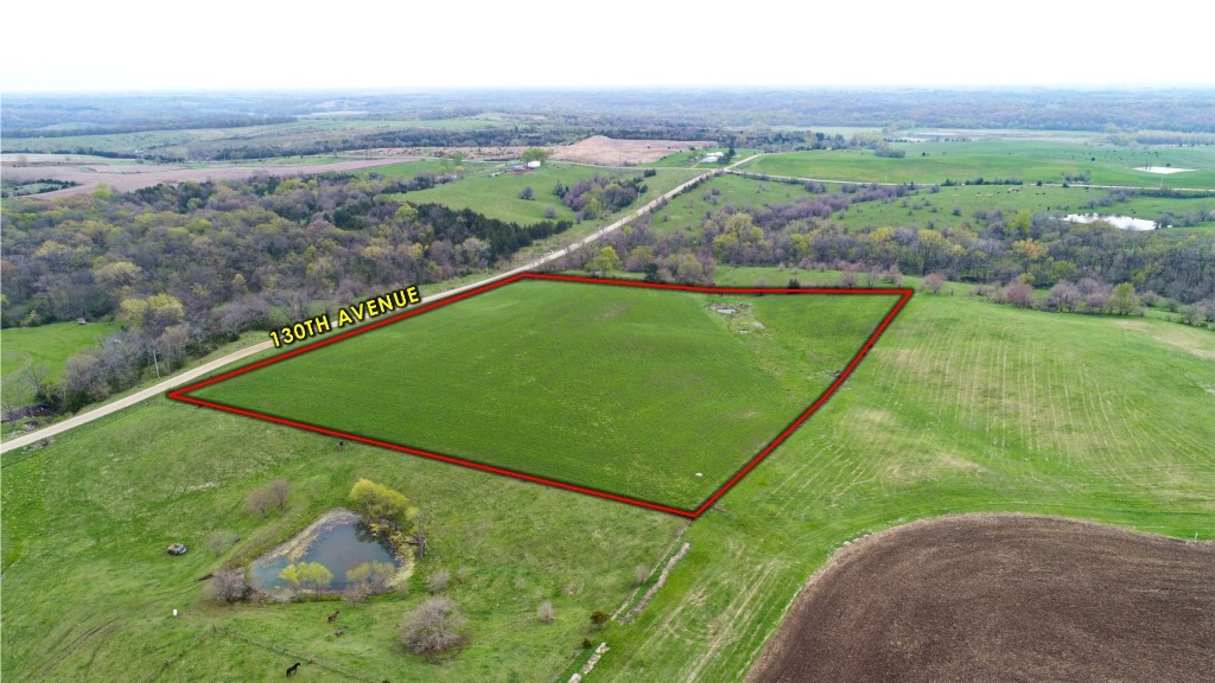Peoples Company Land for Sale in Warren County, Iowa - 13 acres - 130th Ave. Lucas, IA 50151 - 14503