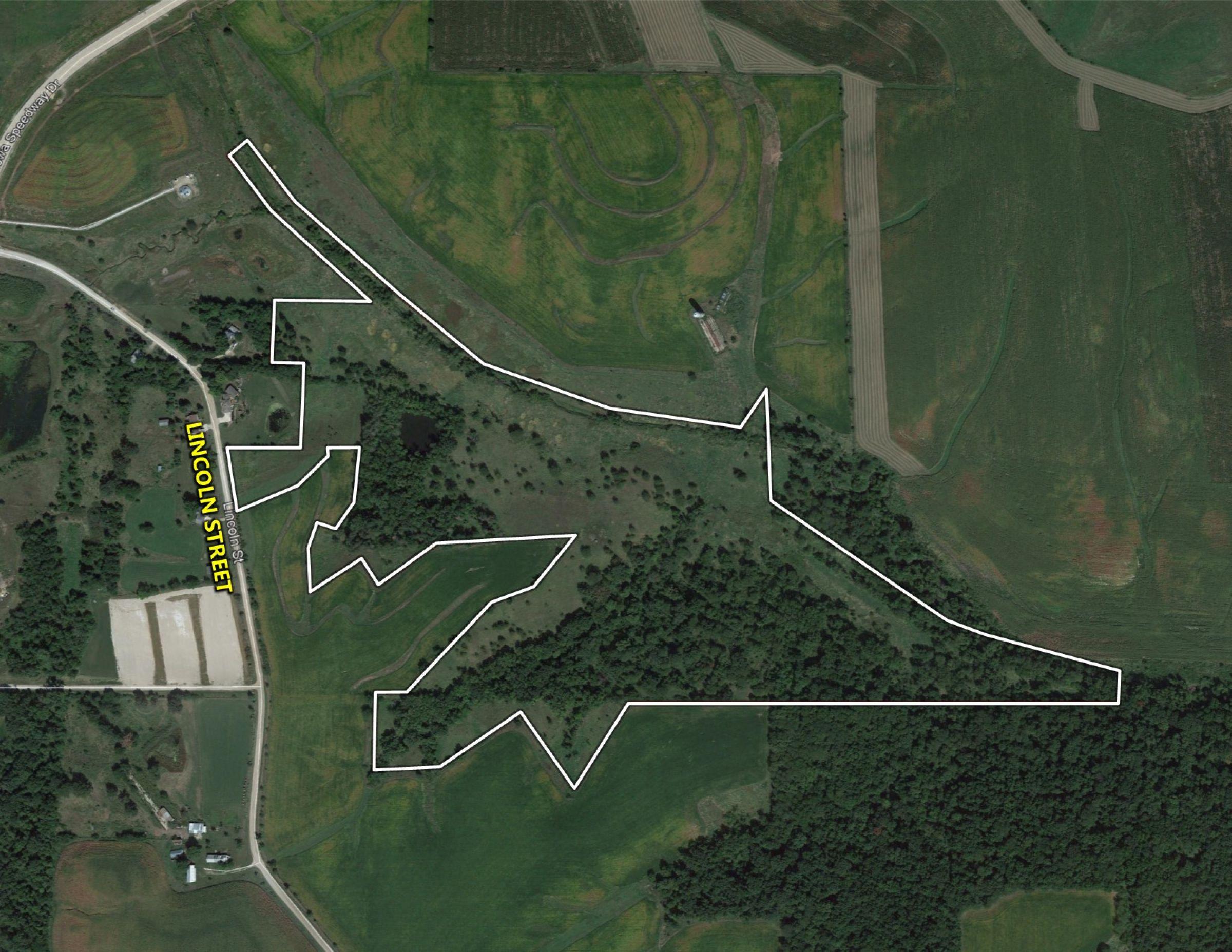 Jasper County Farmland Google Close