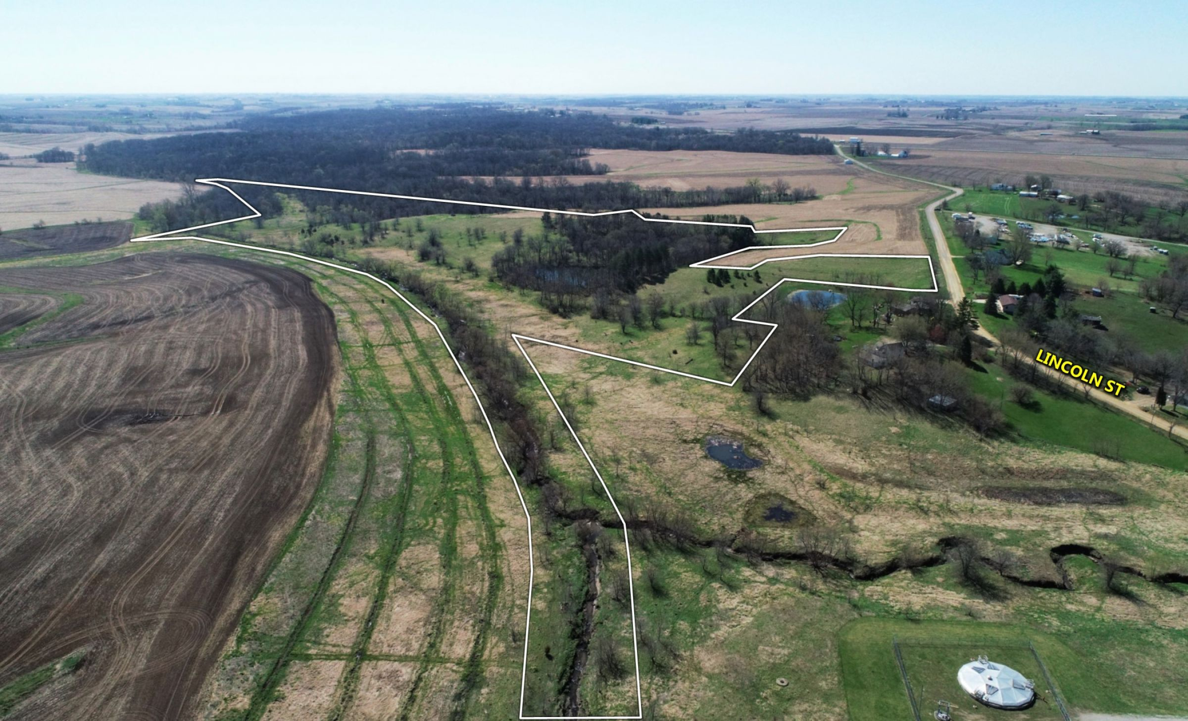 Jasper County Farmland Photo 3