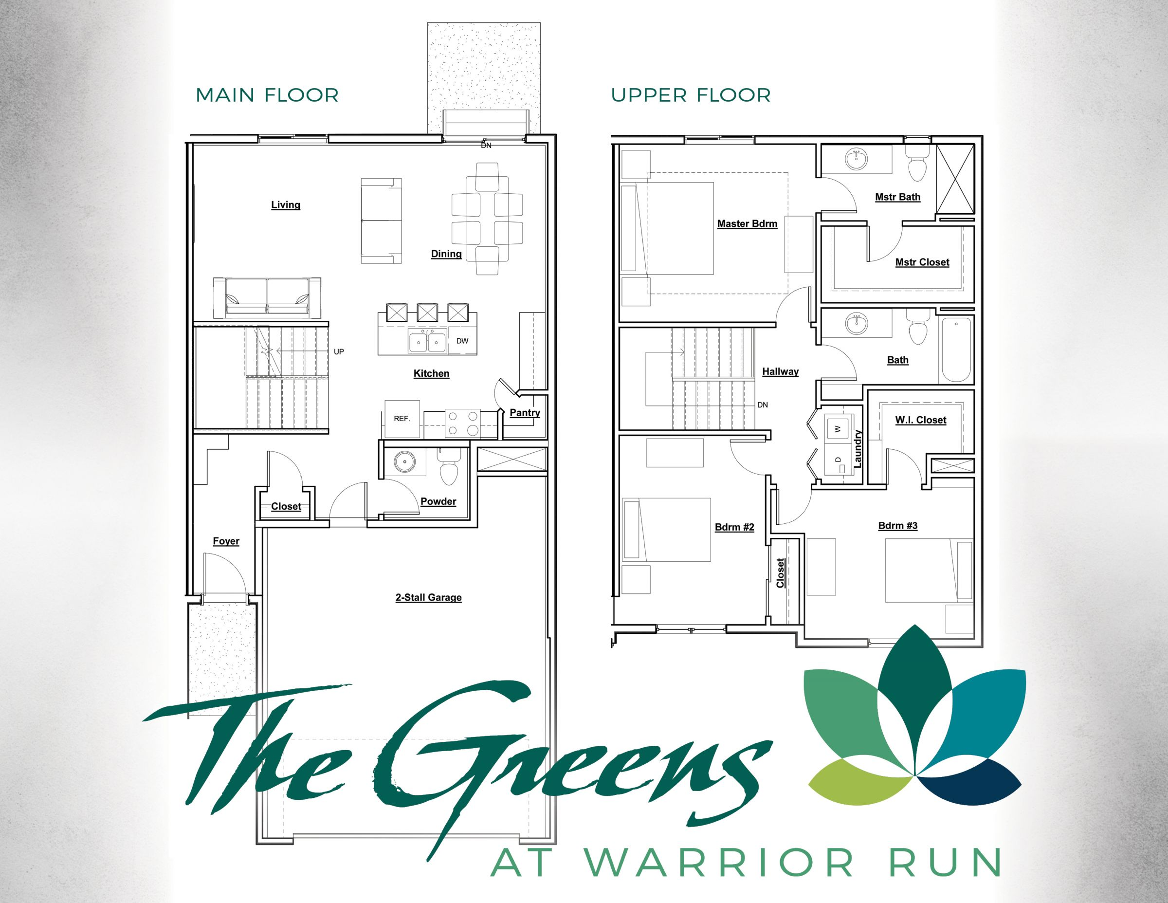 The Greens At Warrior Run Floor Plan