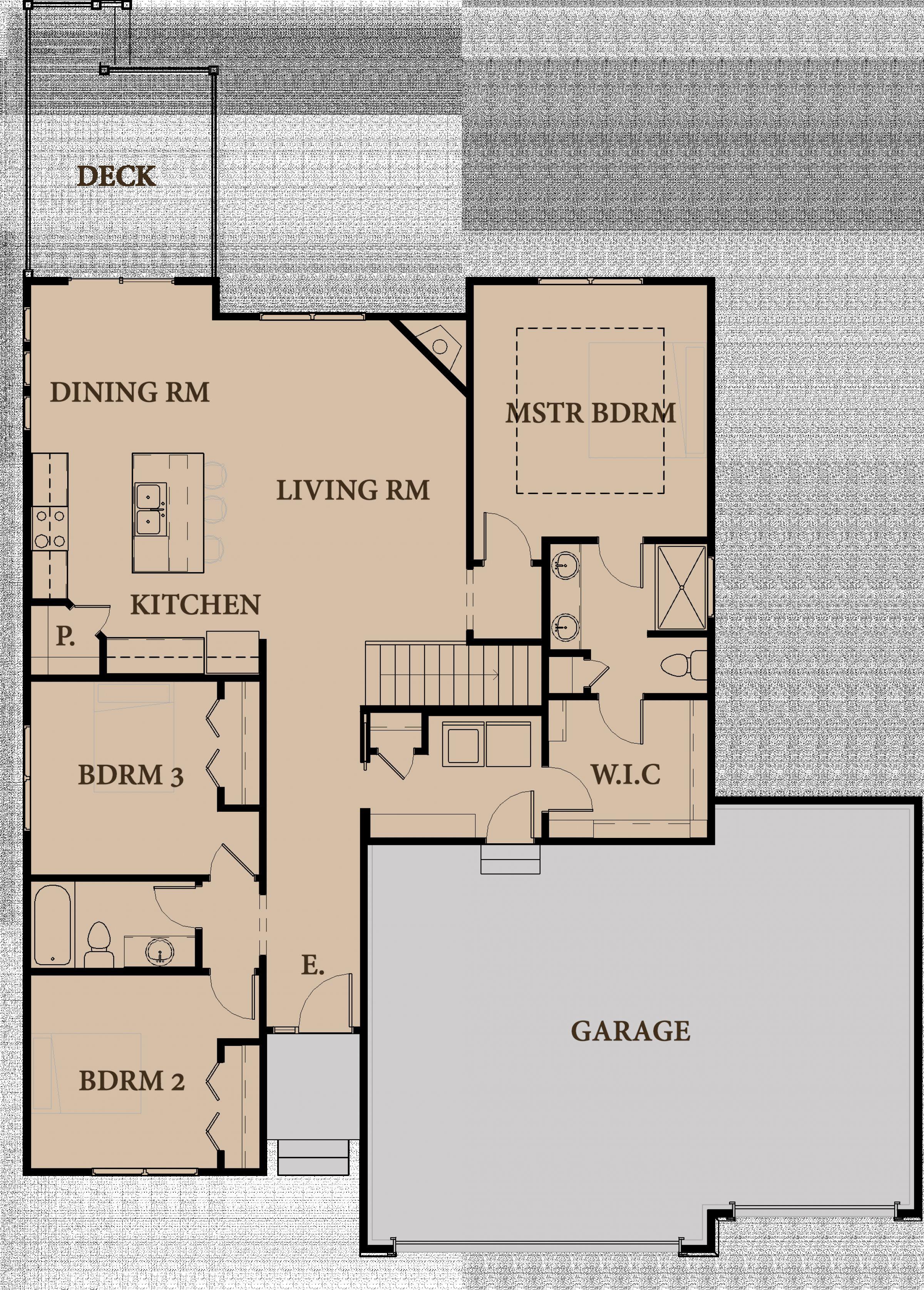 First Floor Rendering