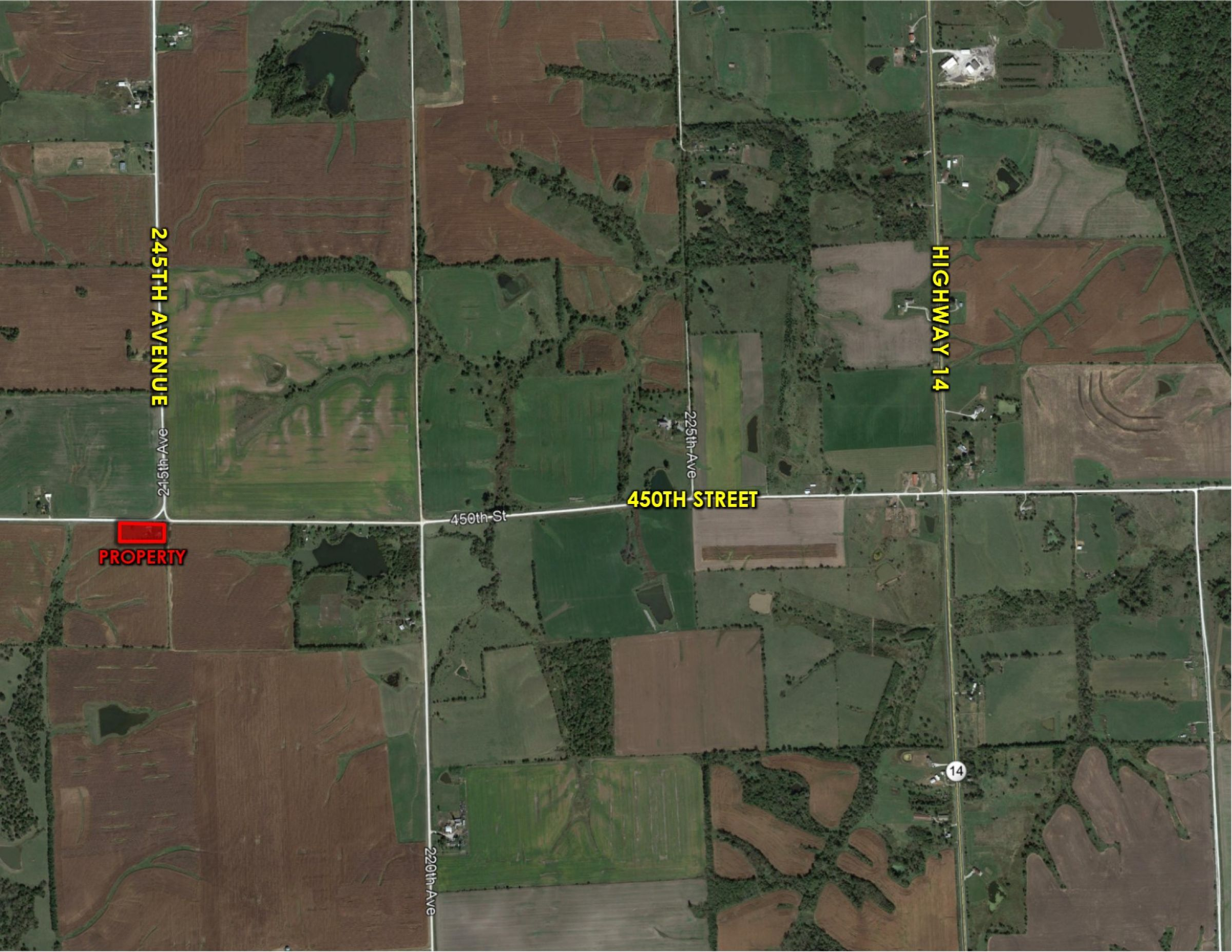 Peoples Company Acreage for Sale - Lucas County, Iowa - 44461 205th Ave. Chariton, Iowa 50049