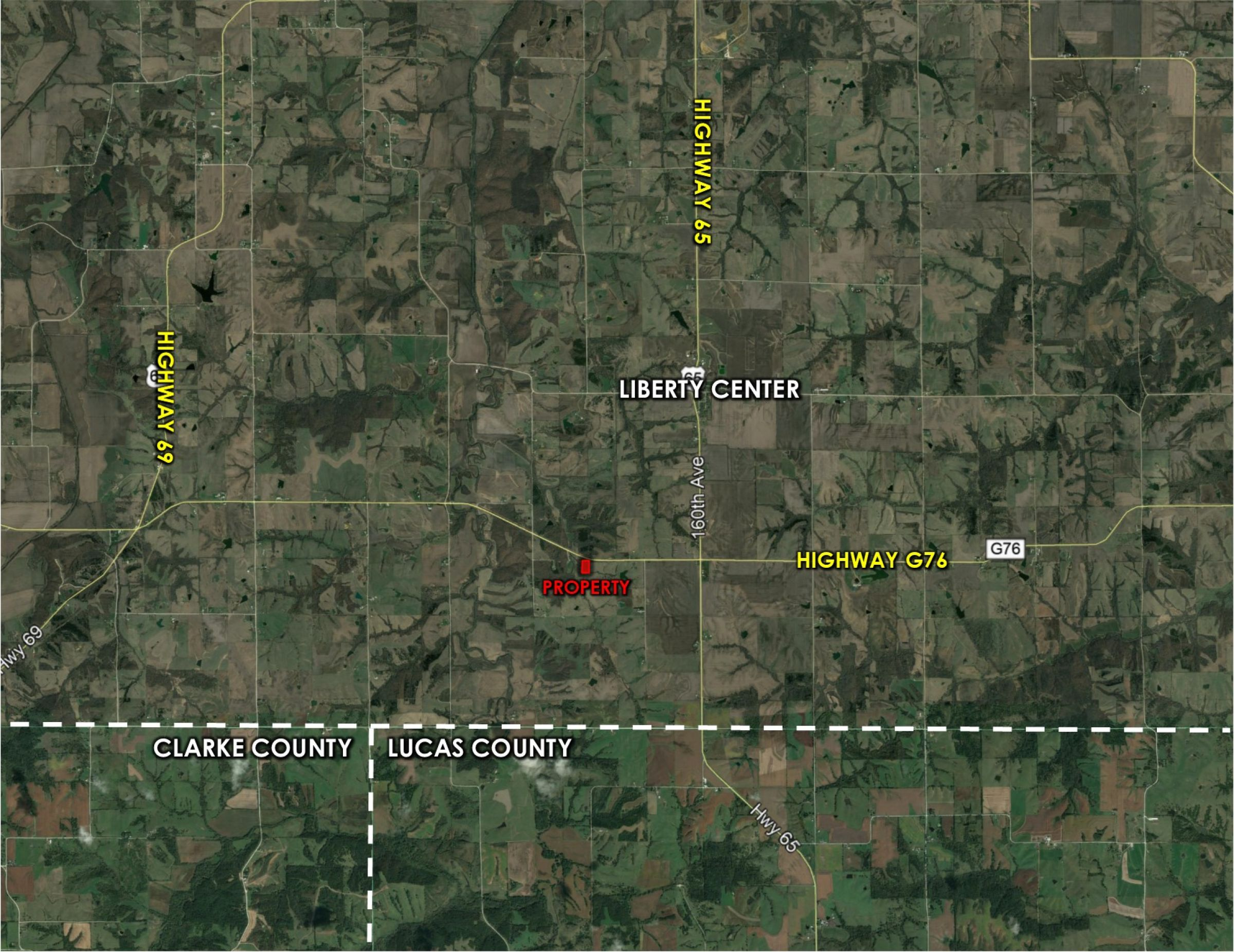 Peoples Company Acreage for Sale - #14547-15002-g76-highway-lacona-50139