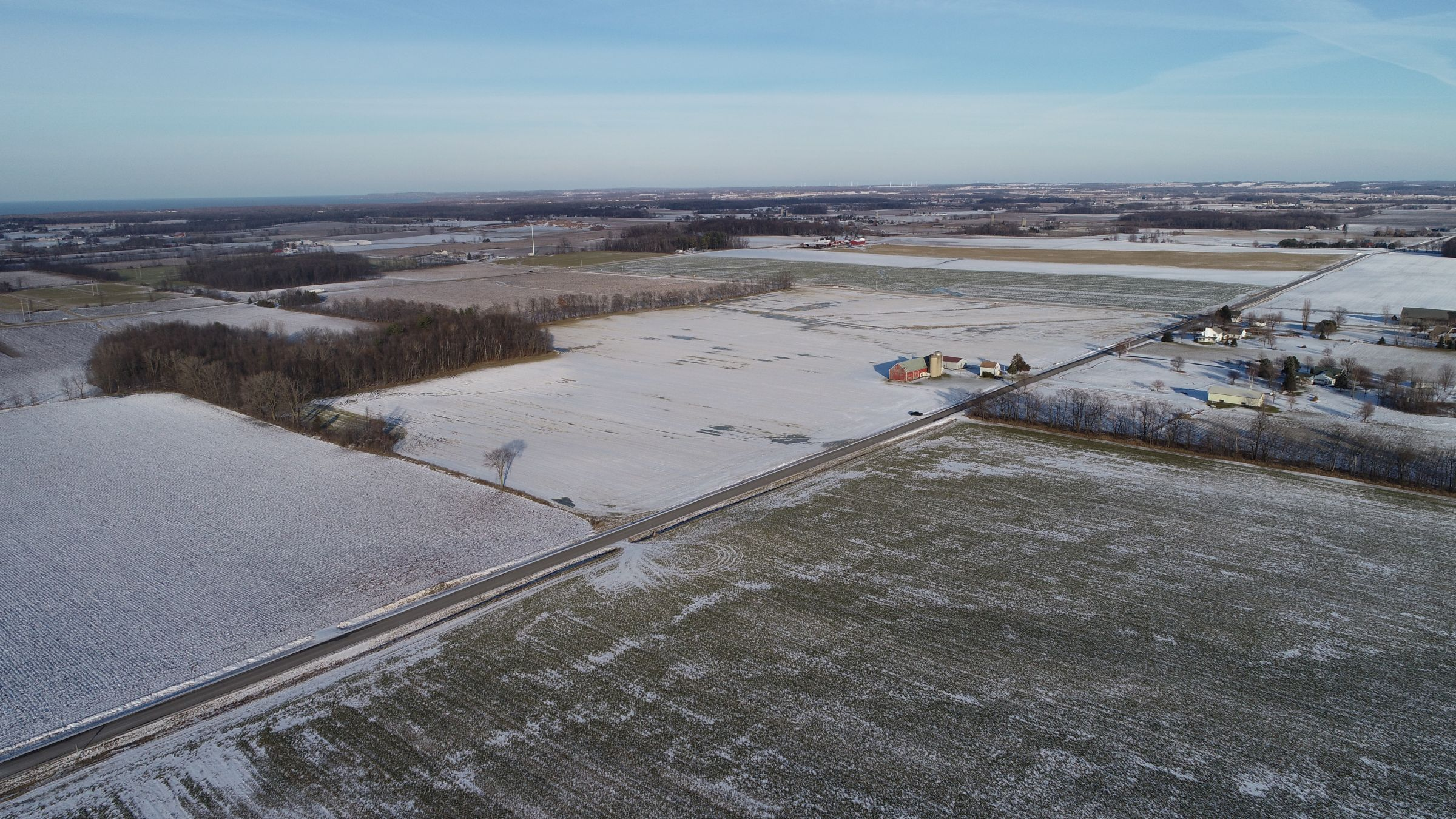 Aerial Image - Northwest looking Southeast