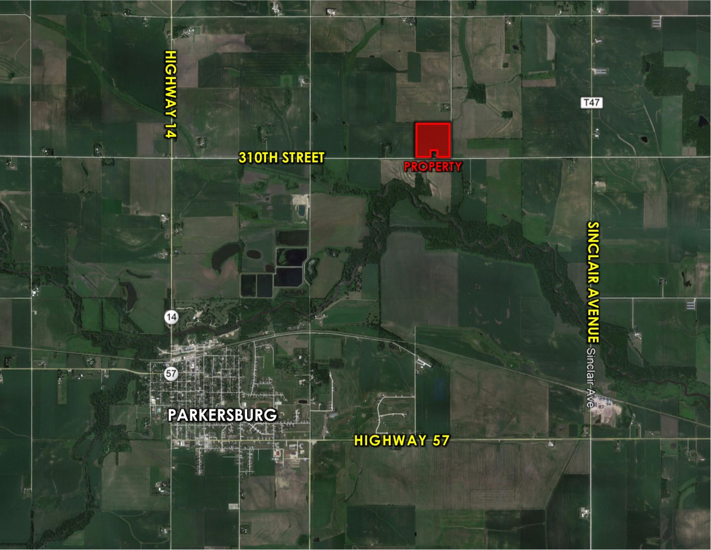 Peoples Company Land For Sale-#14637-310th-street-parkersburg-50665