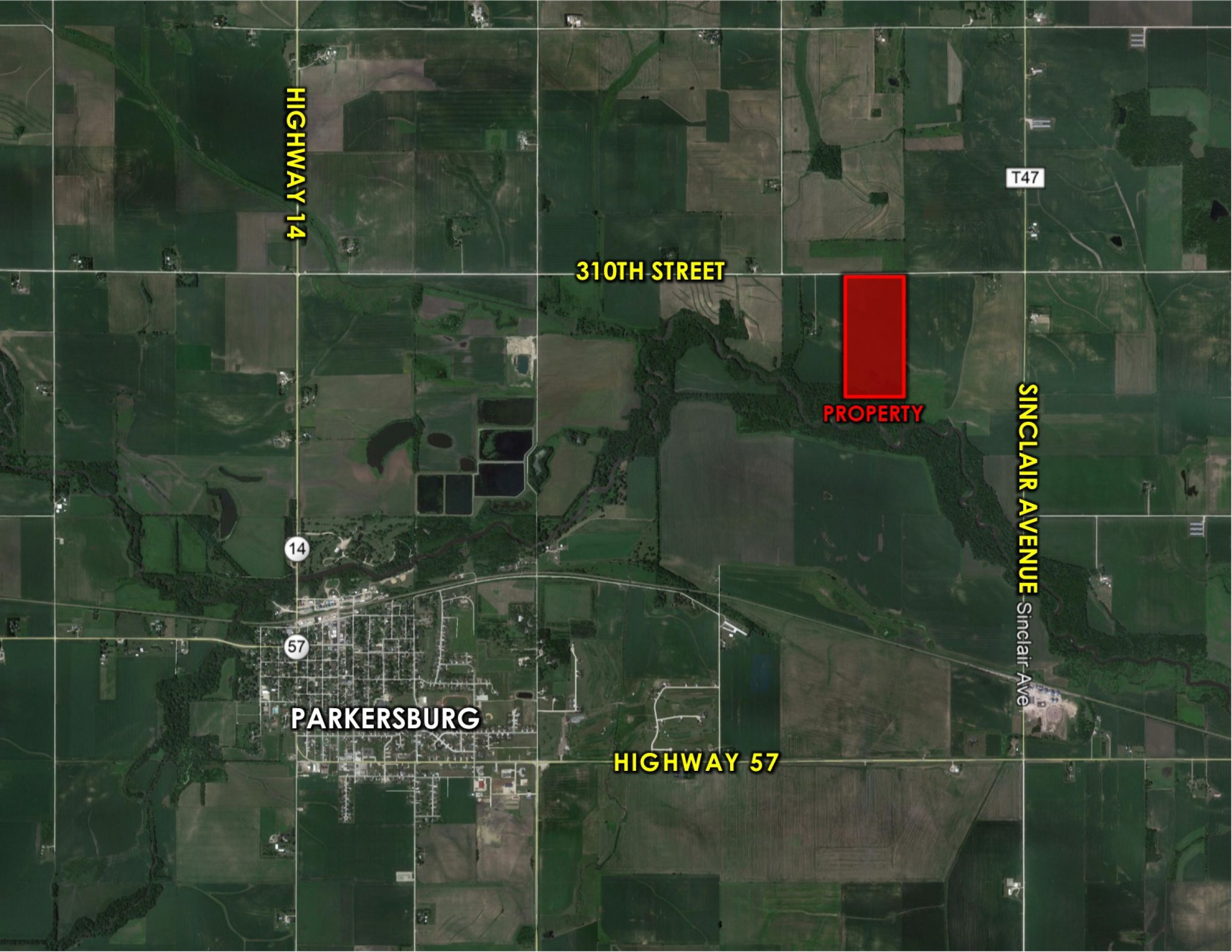 Peoples Company Land for Sale-#14639-310th-street-parkersburg-50665