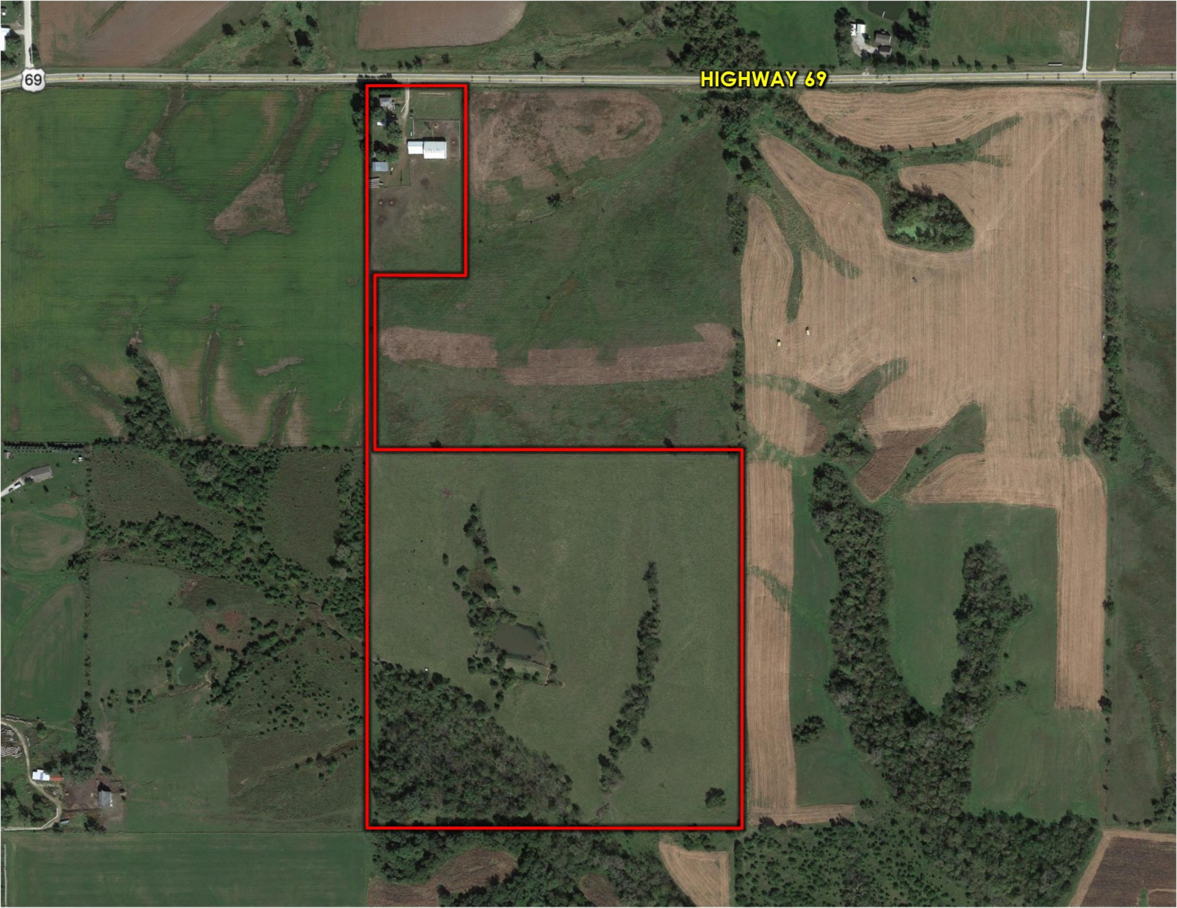 Peoples Company Land for Sale - #14724-1400-highway-69-osceola-50213