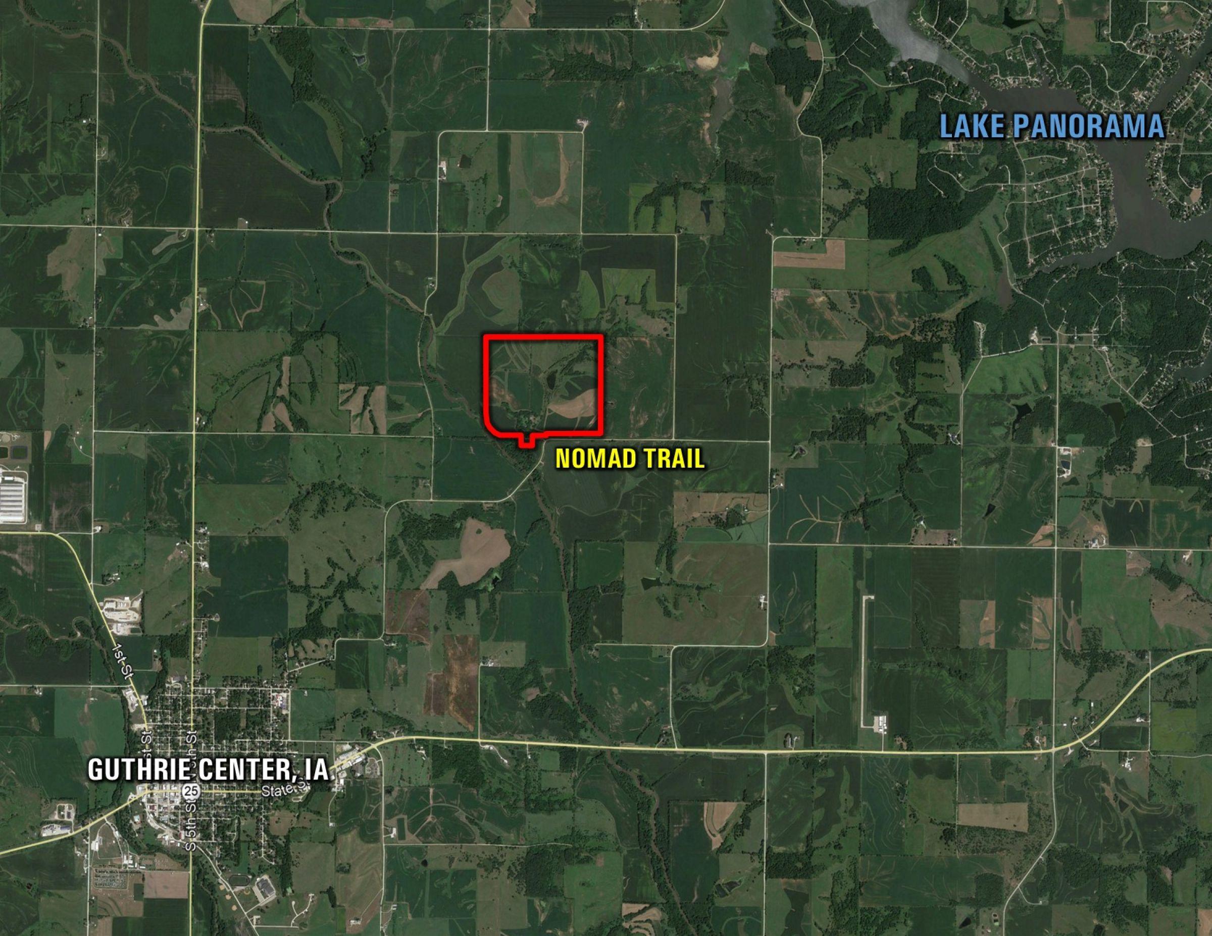 Google Far of Jorgensen Farm in Guthrie Center, Iowa