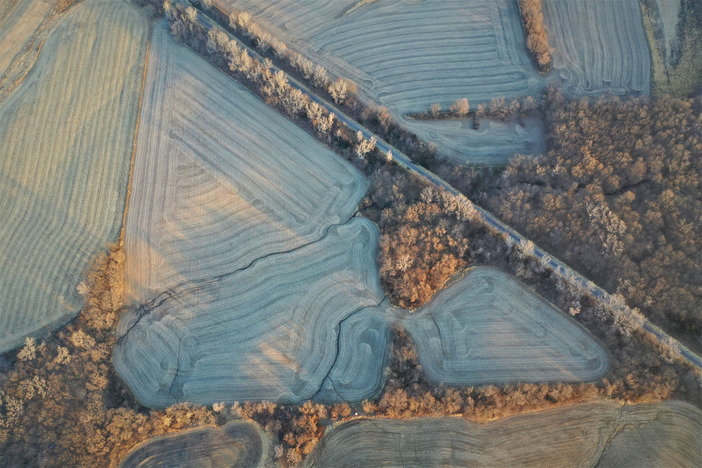 South Field Aerial - Swan, Iowa