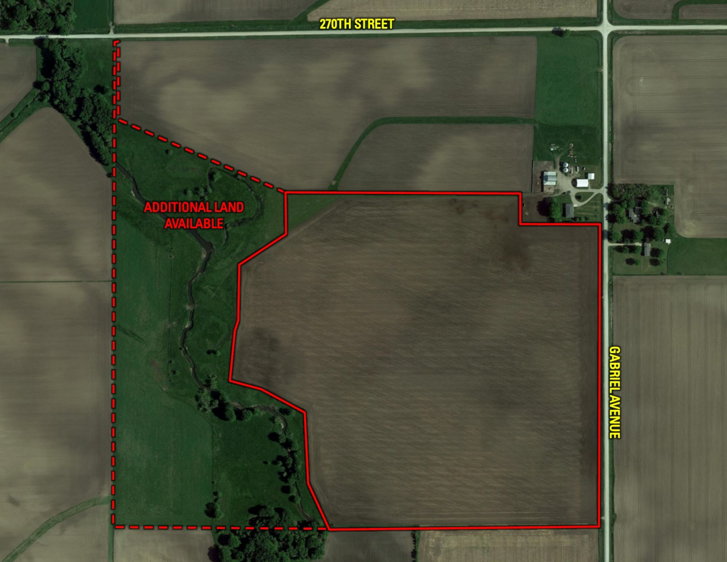 Additional Land Available
