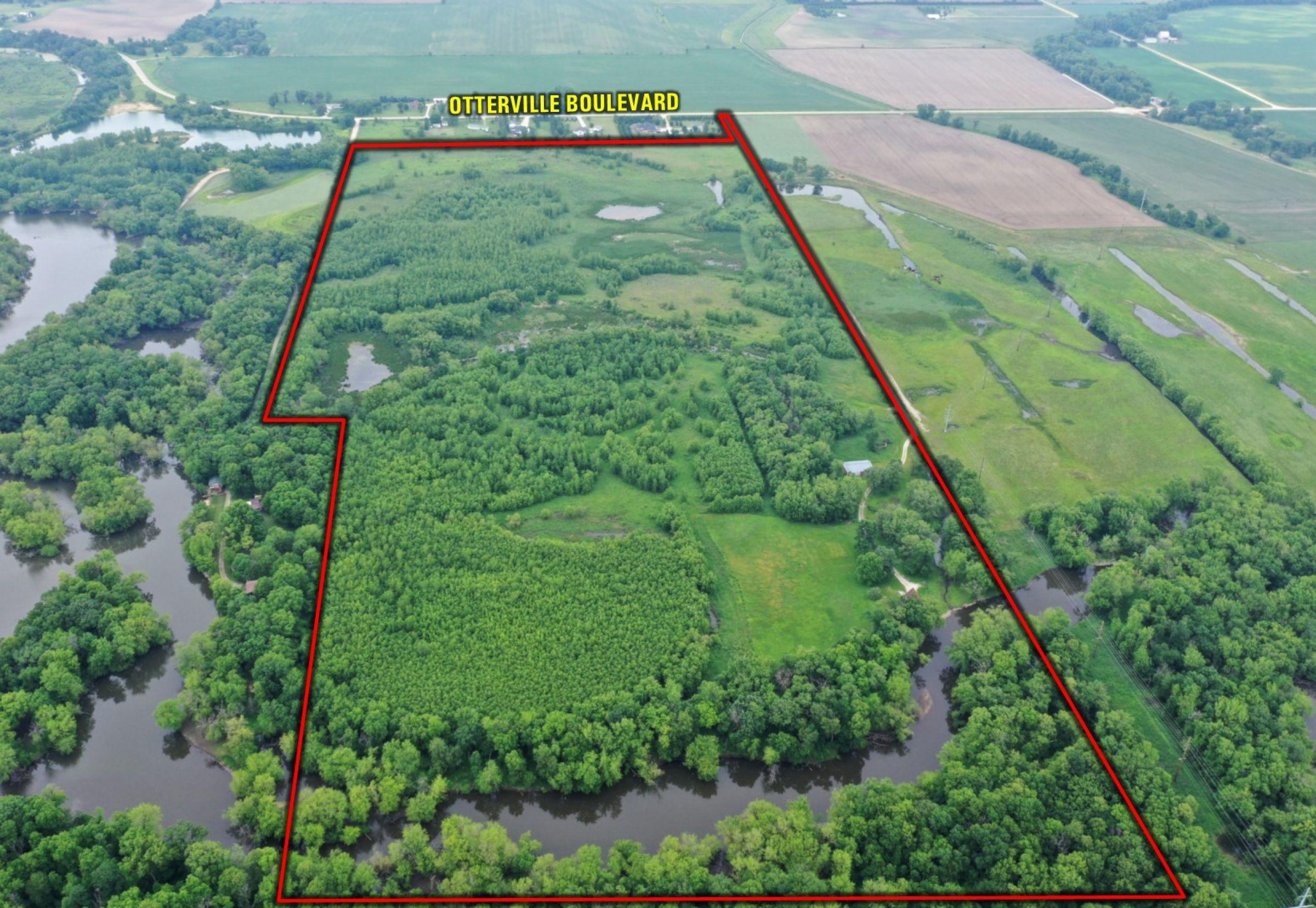 Aerial Image Looking North