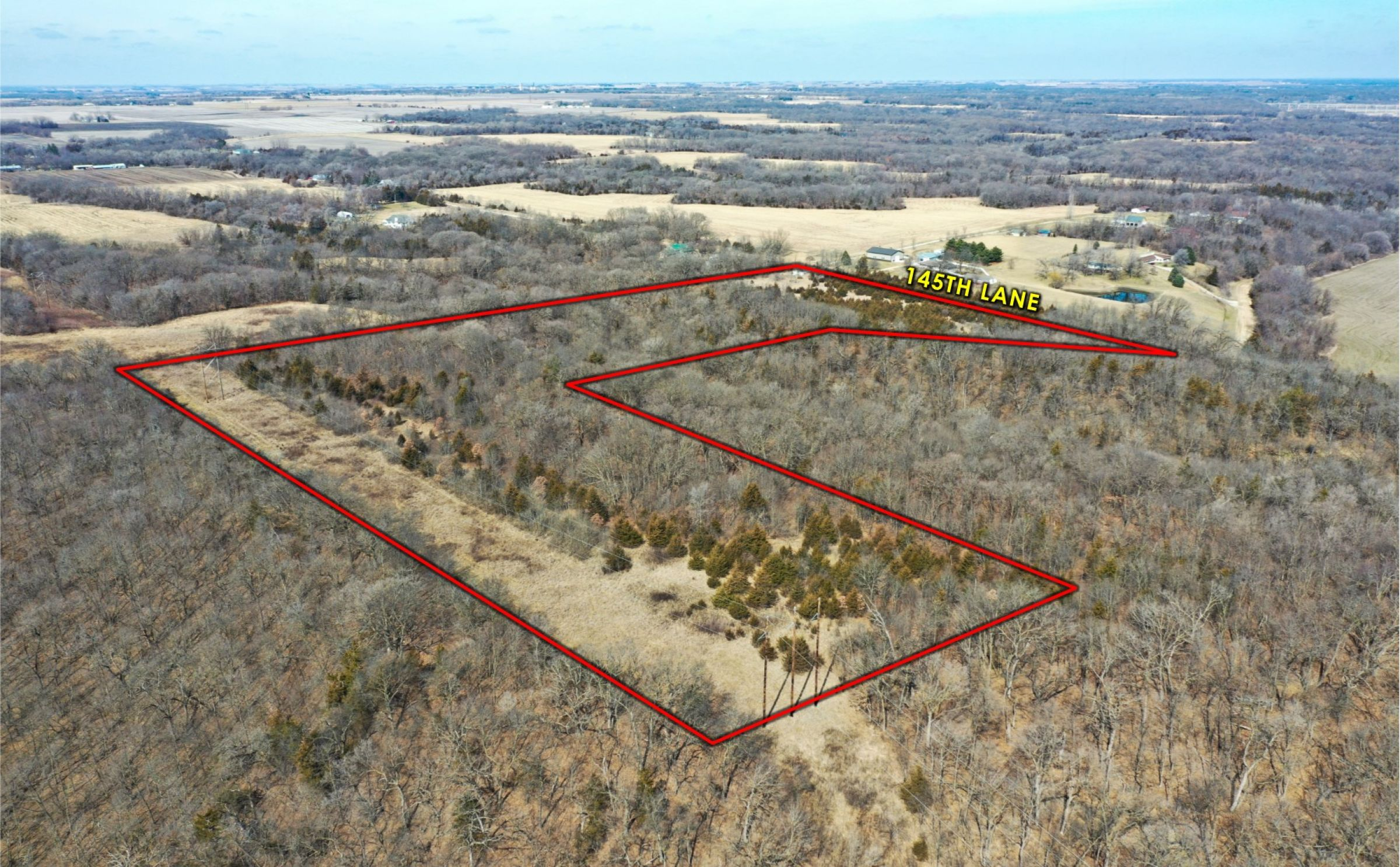 Peoples Company Land for Sale-#14901-3210-145th-ln-woodward-IA