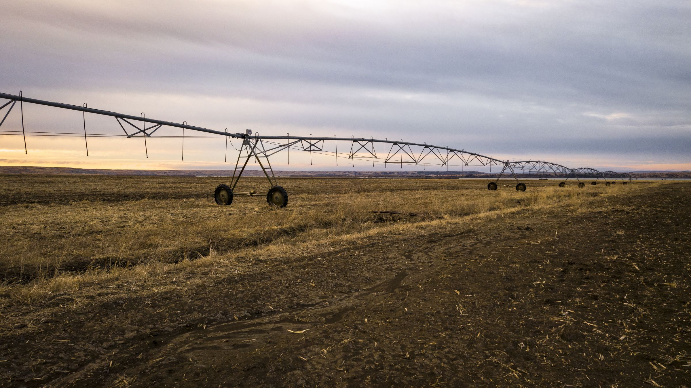 Irrigated Farmland Available - 1624 Acres M/L - Hughes County, SD