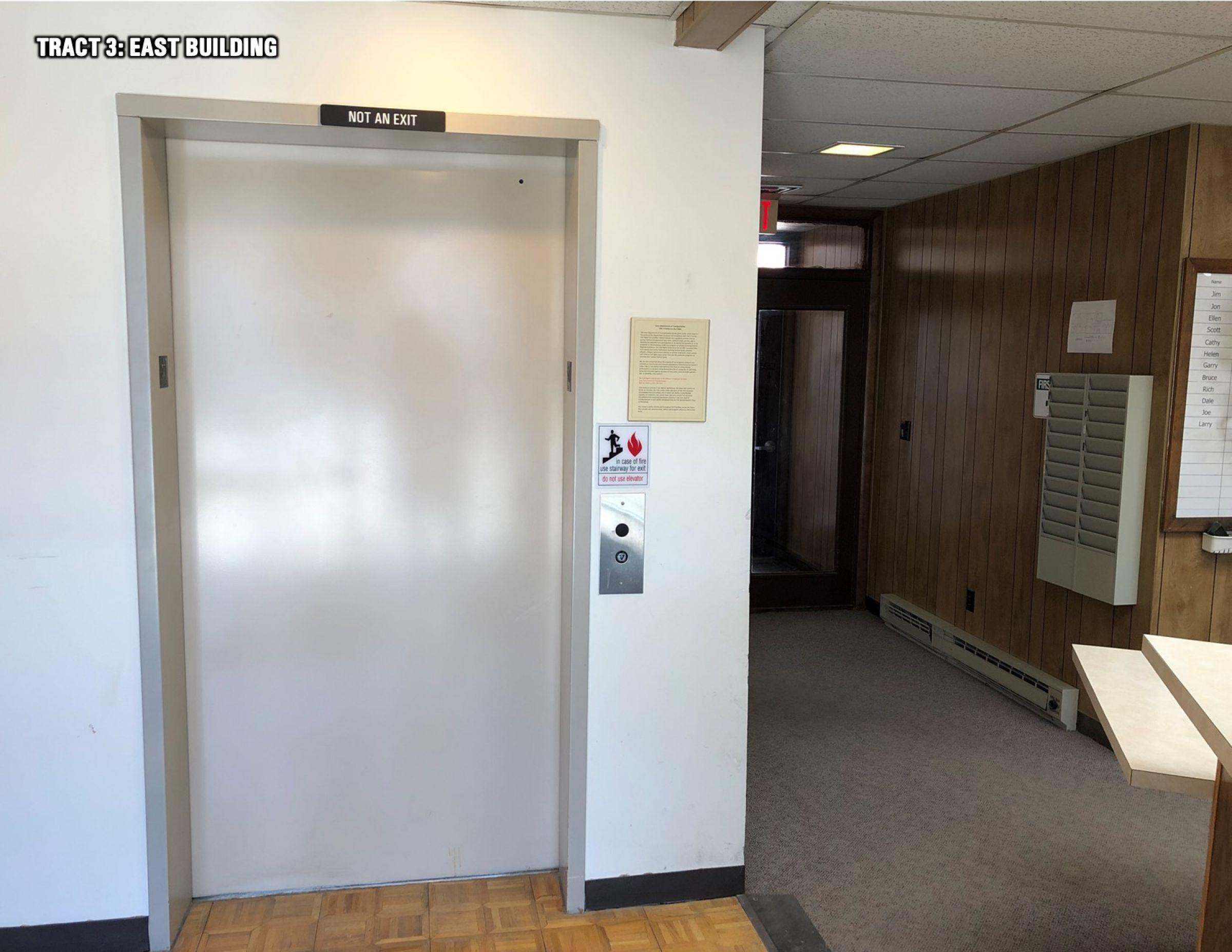 East Bldg Elevator