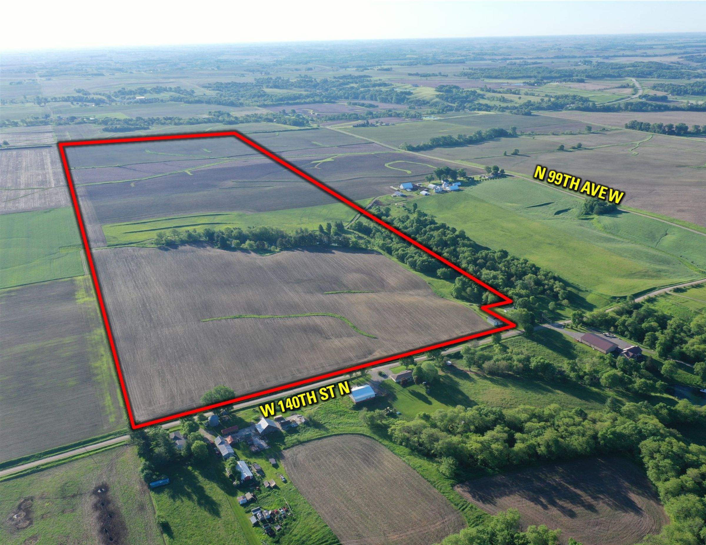 Jasper County Farm Land for Sale