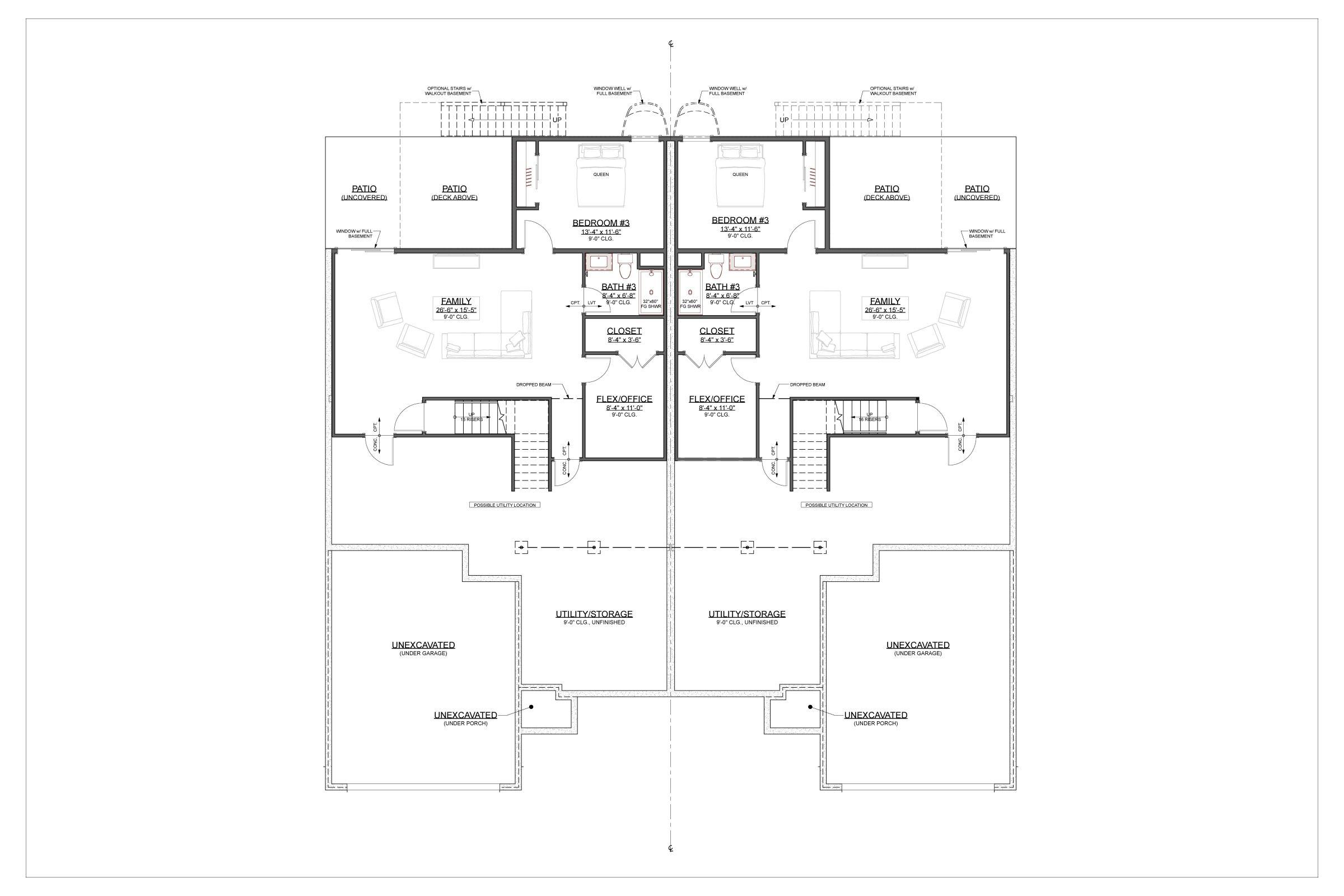 Basement Floor Rendering