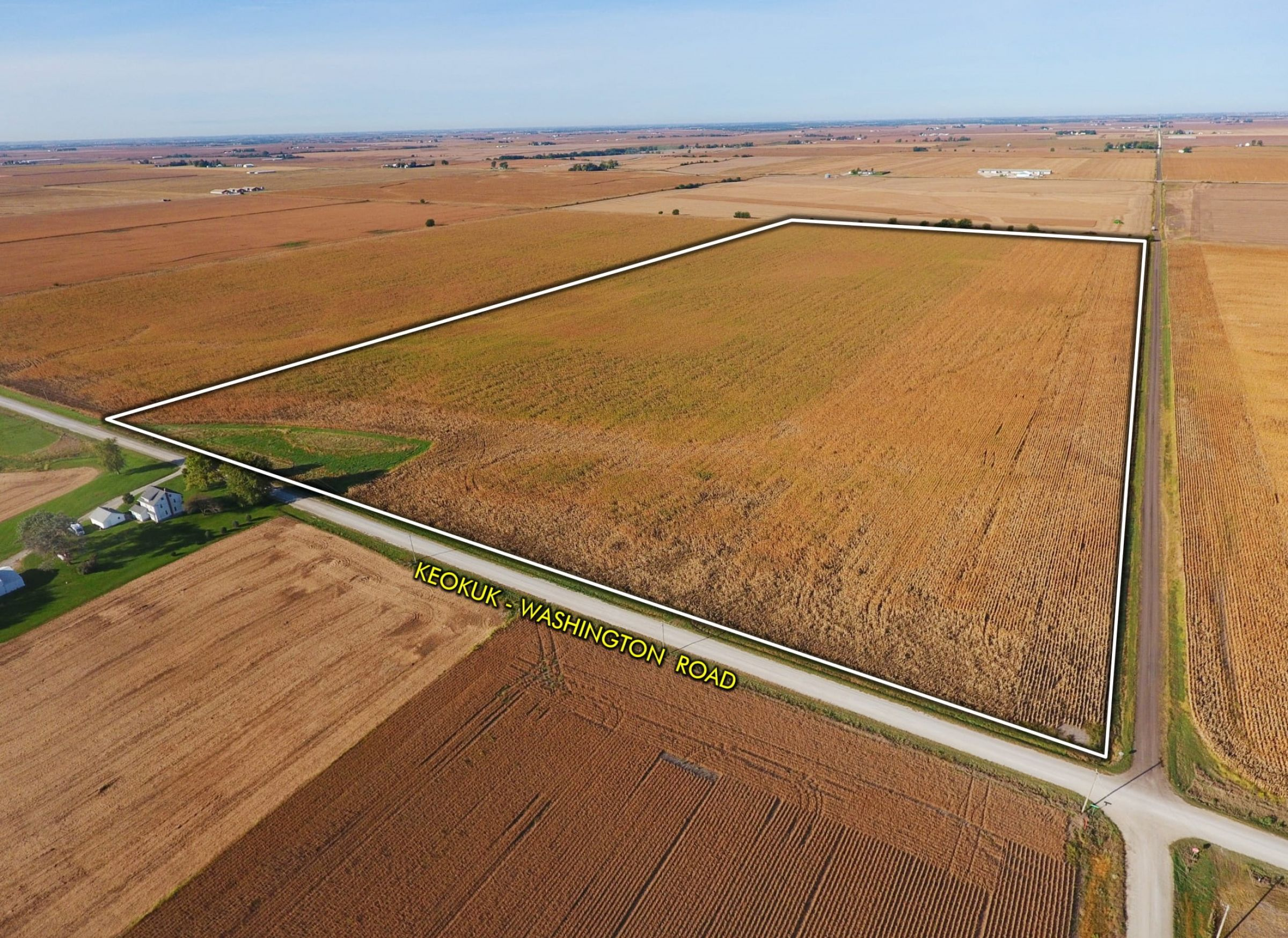 Keokuk County Iowa land auction land for sale