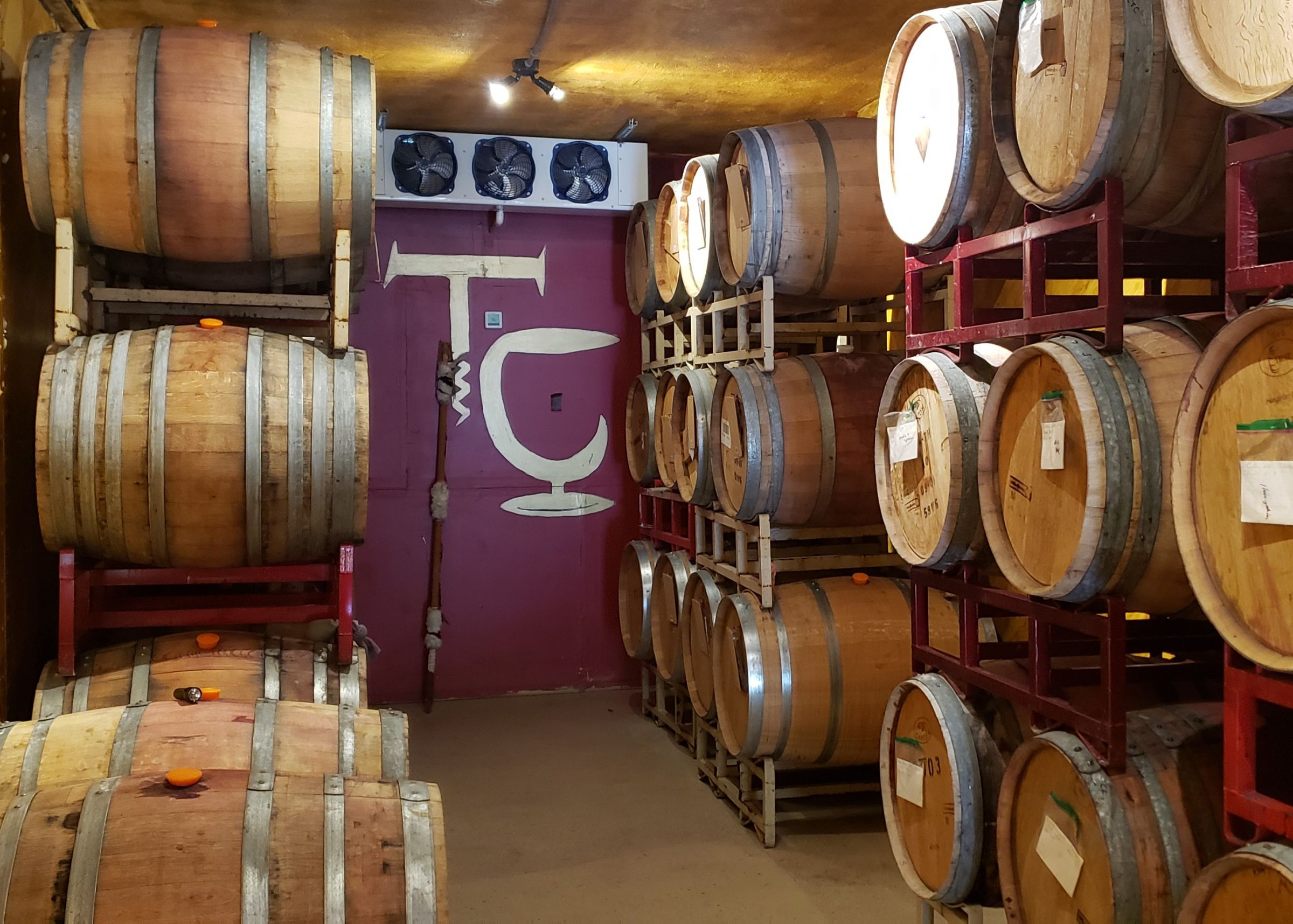 Climate-Controlled Barrel Room