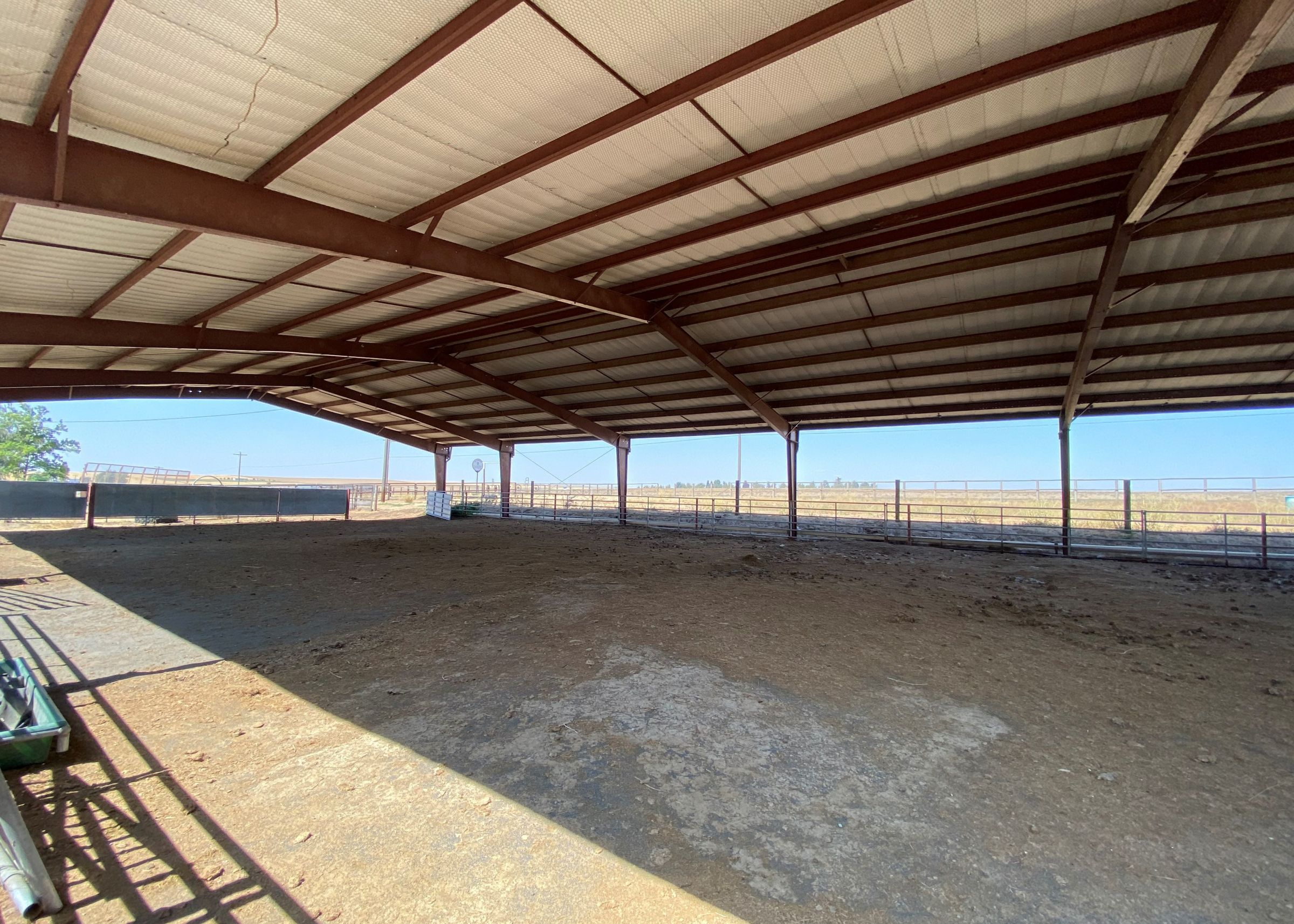 Outdoor Covered Riding Arena