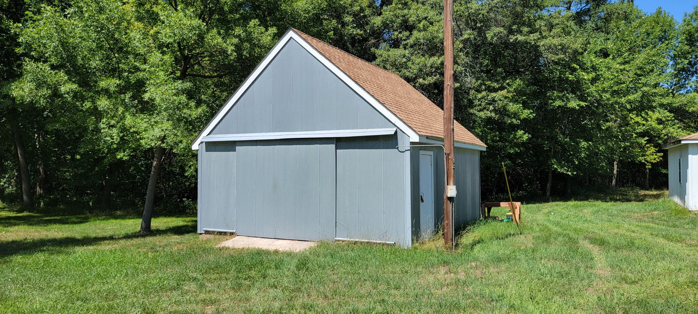 20' x 22' shed