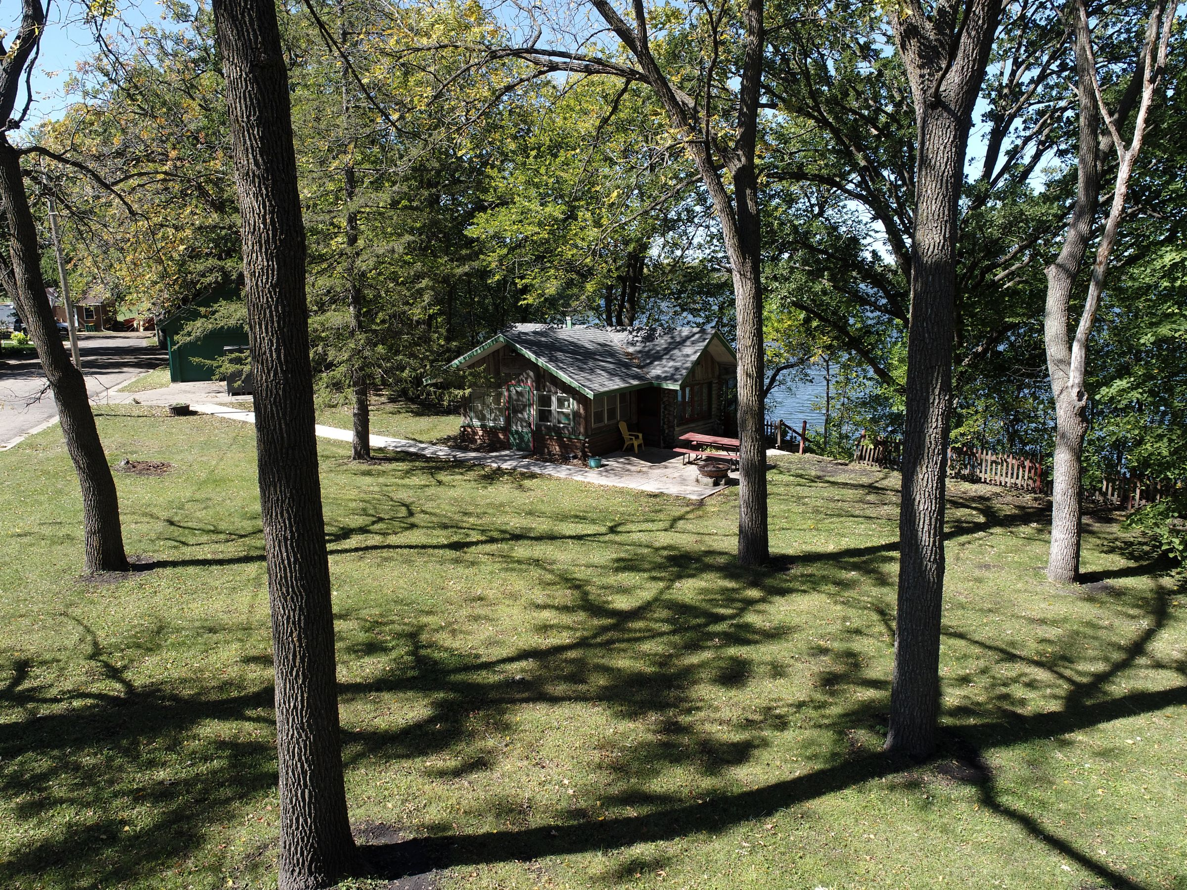 over 1/2 acre lot