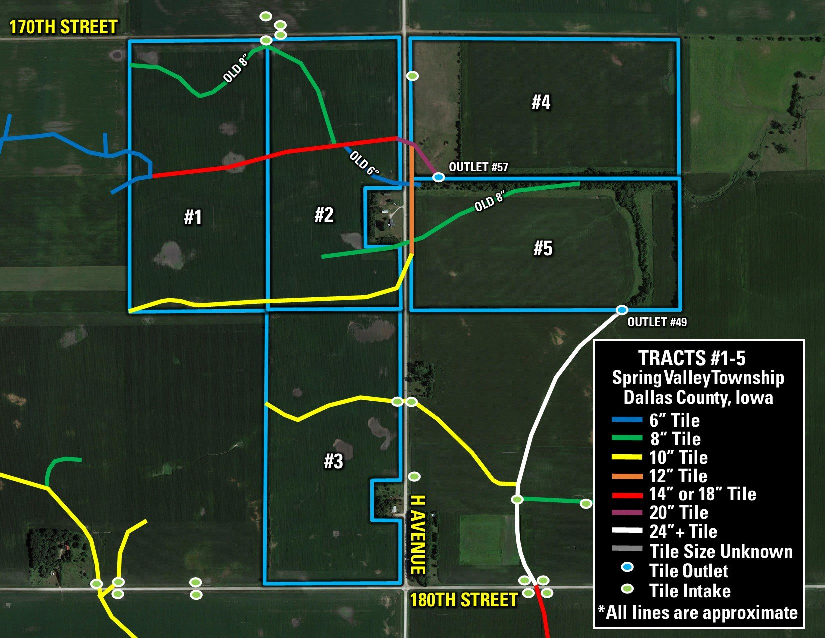 Tile Map (Tracts 1-5)