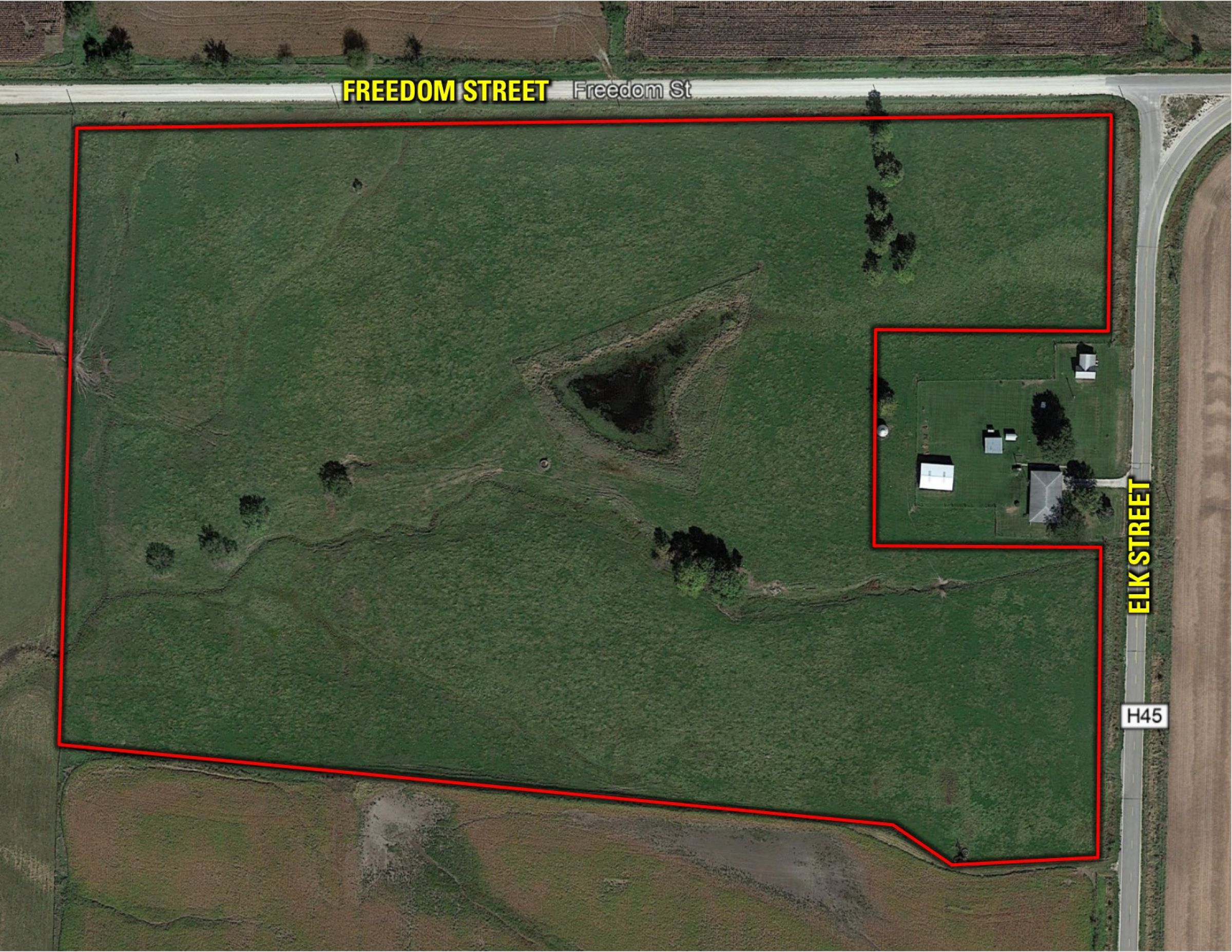 PeoplesCompany-Farmland Auction in Clarke County IA-Elk Street Osceola